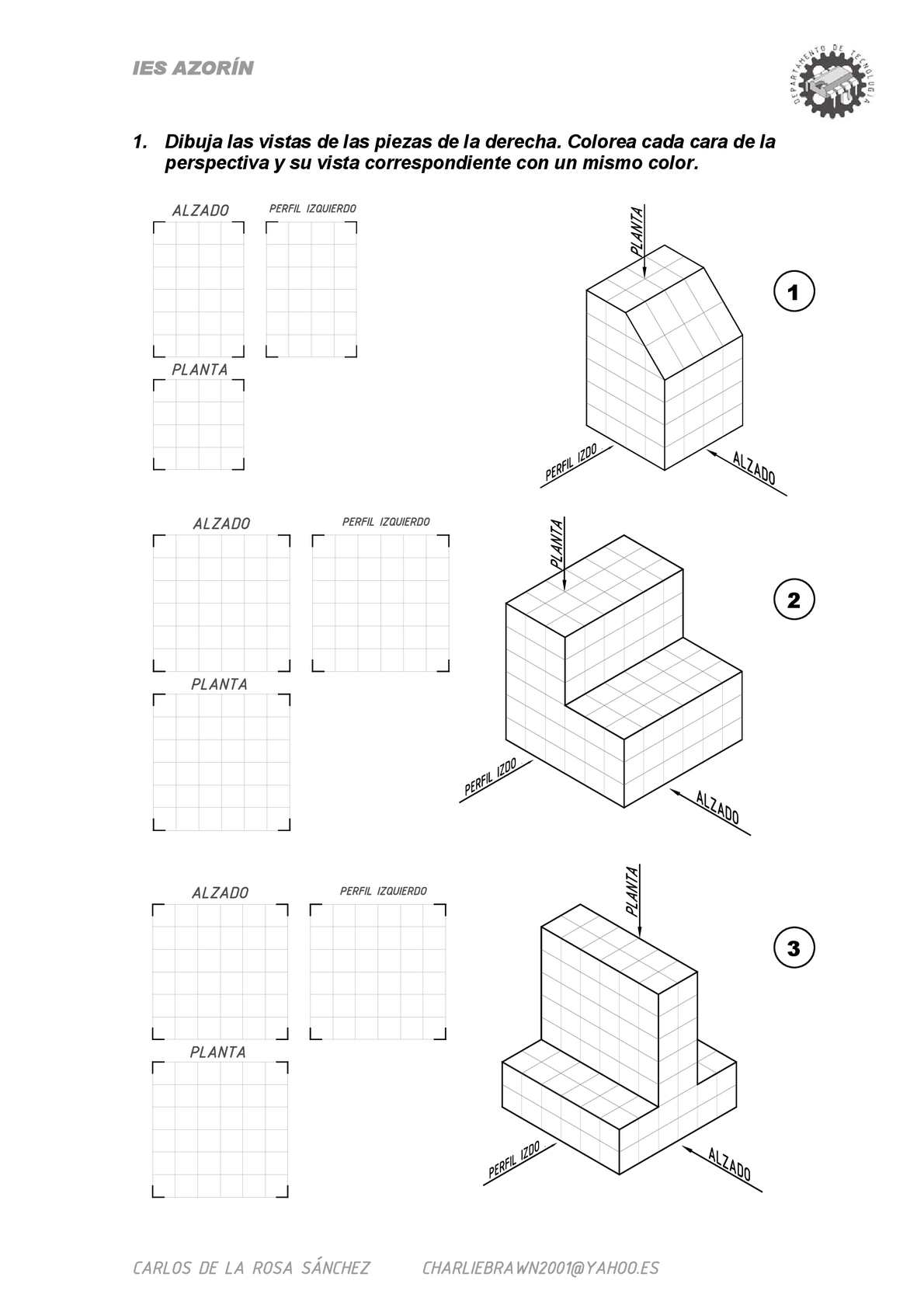 Calaméo - Dibujo Técnico - Sistema de Vistas