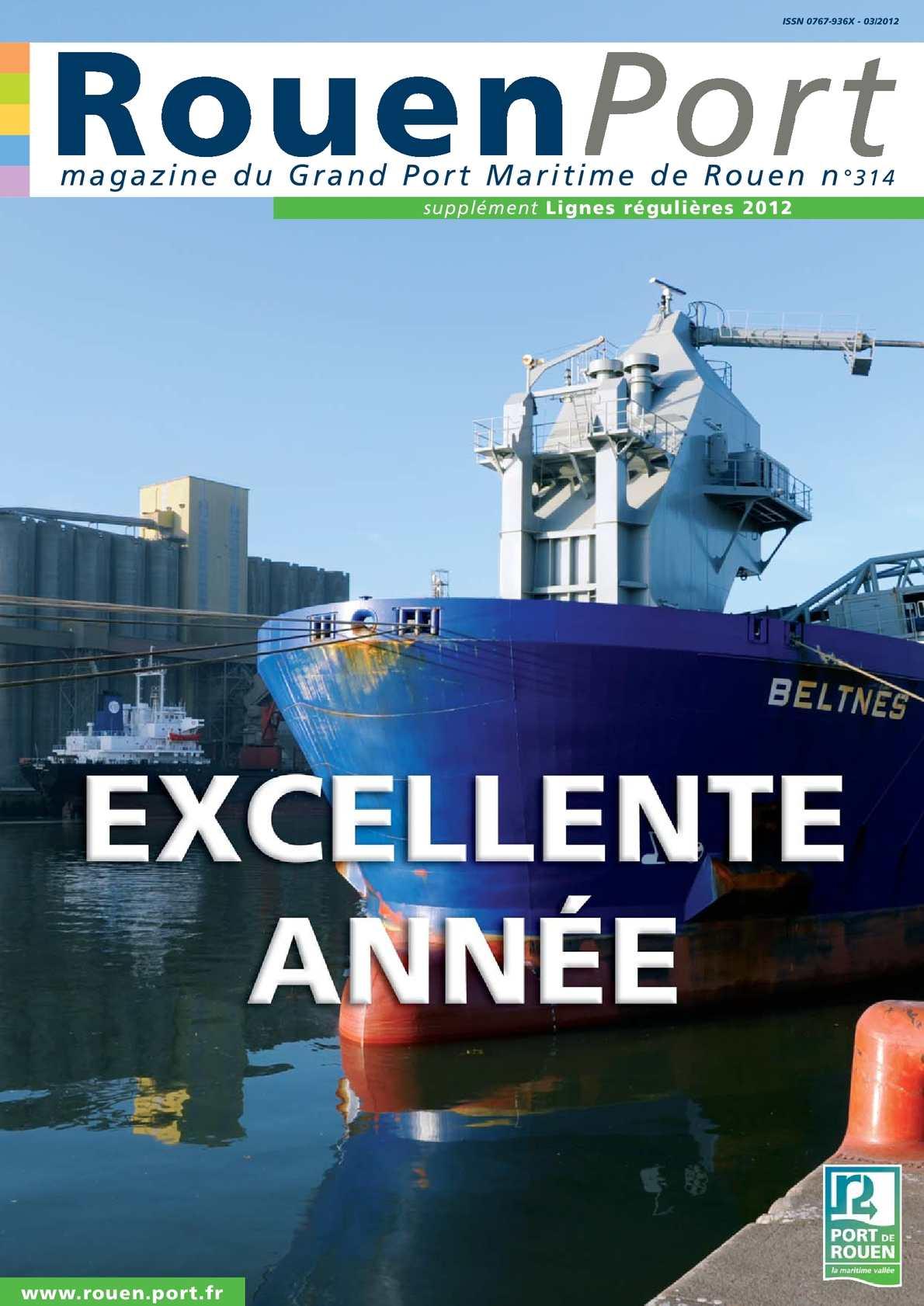 Calam o magazine rouen port n 314 - Grand port maritime de rouen ...