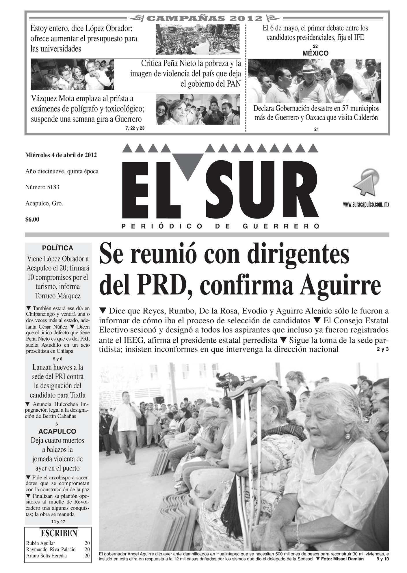 Calaméo - El Sur 4 de abril de 2012