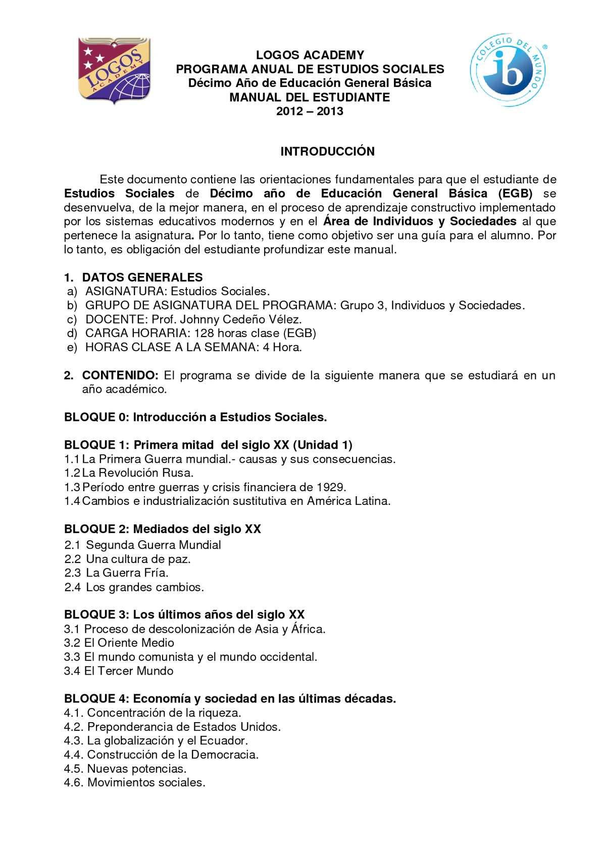 Calaméo - MANUAL DE DÉCIMO AÑO DE EGB