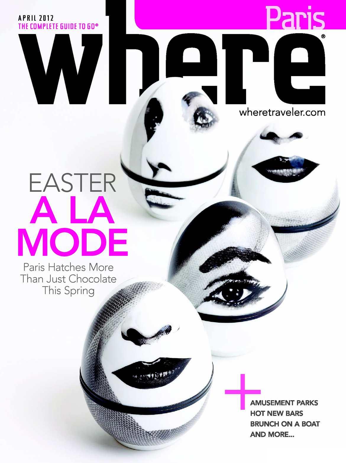 Calameo Where Paris Magazine April 2012