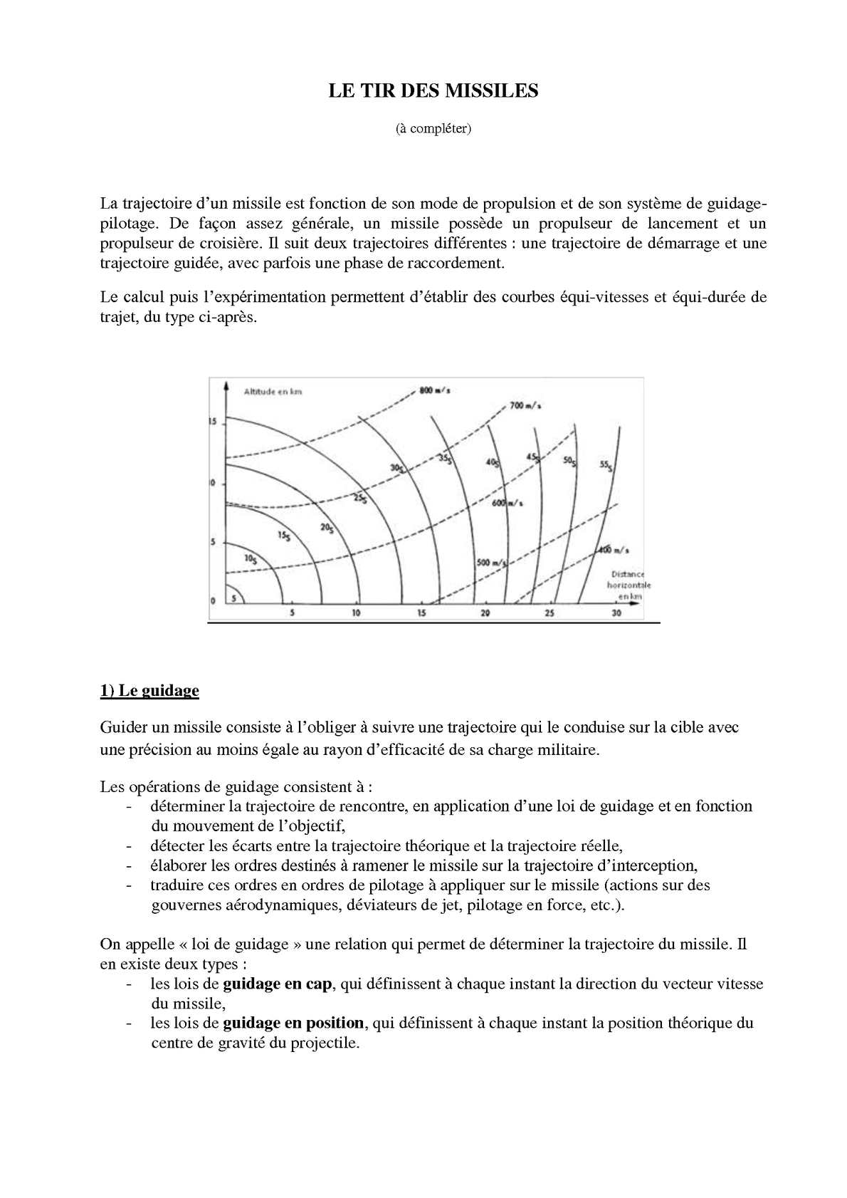 LE TIR DES MISSILES (2)