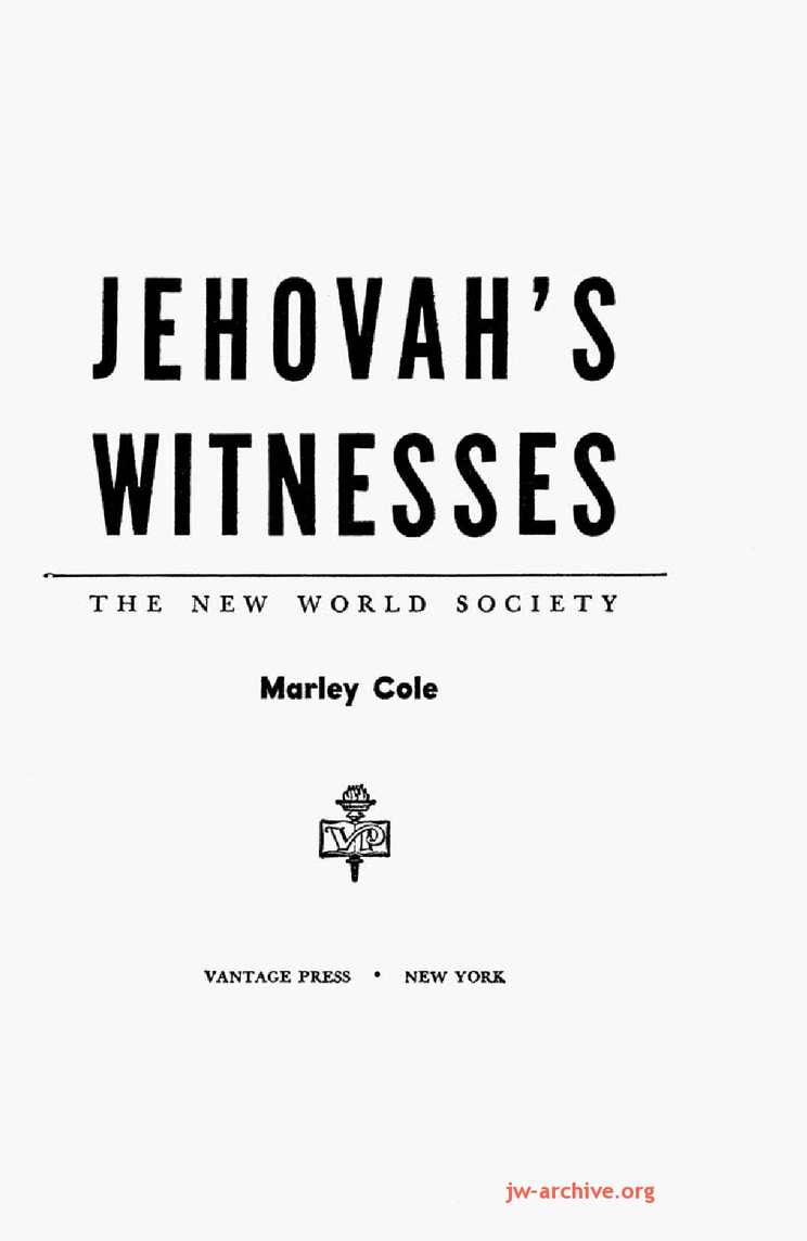 a history and features of the jehovahs witnesses religion Jehovah's witnesses have many unique practices that set them apart from other religious groups find out ten of the most distinctive practices here.