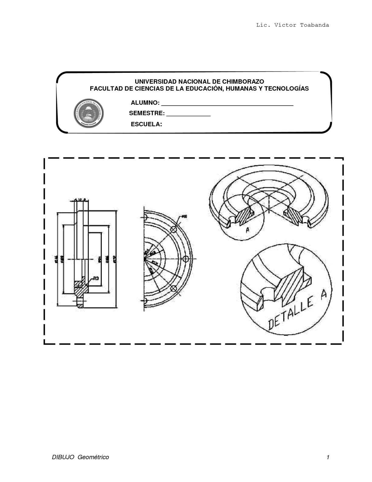 Calamo  dibujo geometrico I PDF