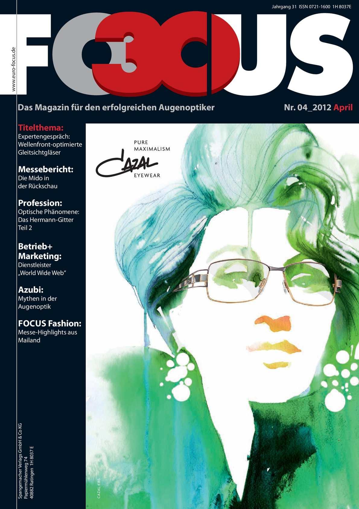 Calaméo - FOCUS 2012_04 April