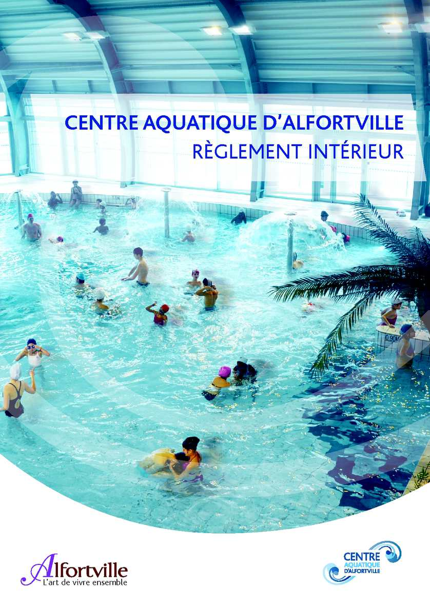 Calam o r glement int rieur centre aquatique d 39 alfortville for Piscine demontable reglementation