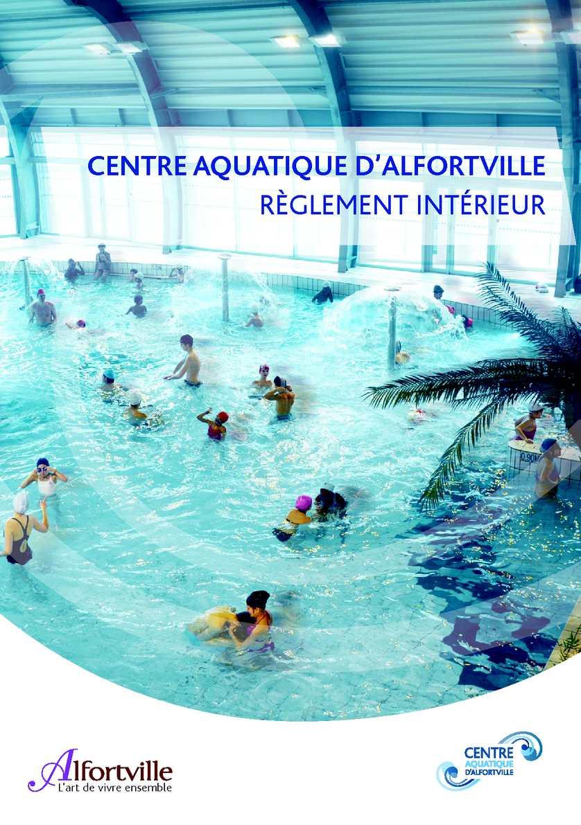 Calam o r glement int rieur centre aquatique d 39 alfortville for Piscine alfortville