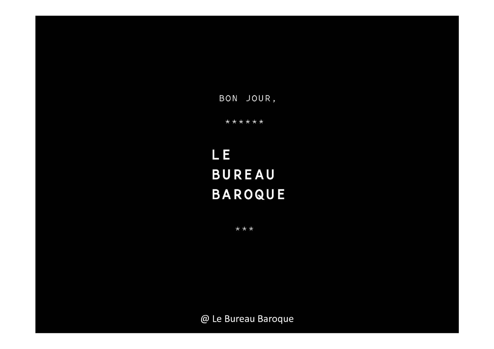 Calamo AGIR DANS LESPACE PUBLIC Bureau Baroque