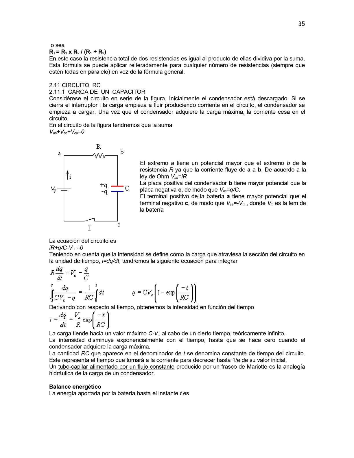 Circuito Rc : Unidad 2 capacitancia calameo downloader