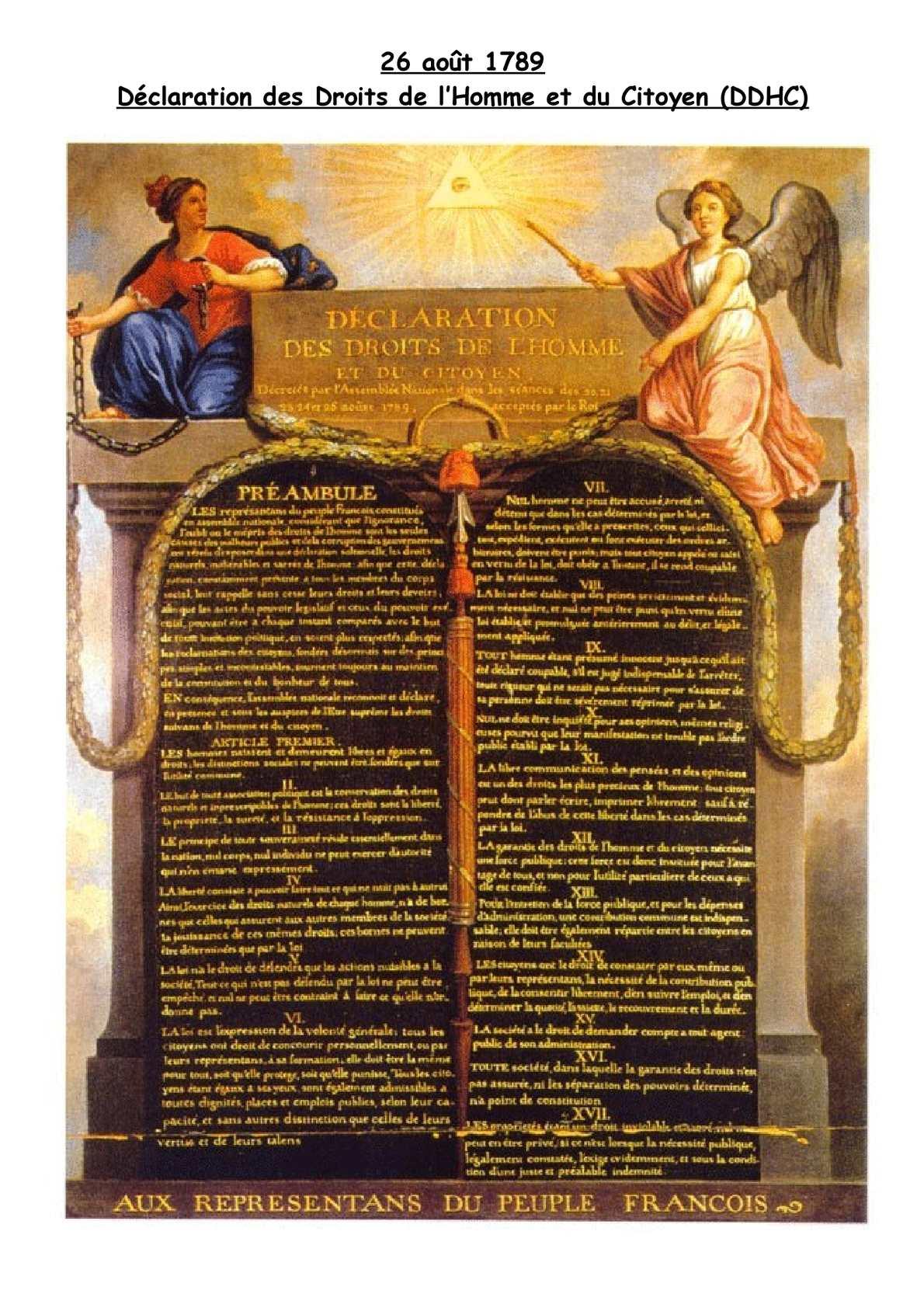 23 _ 26 Août 1789