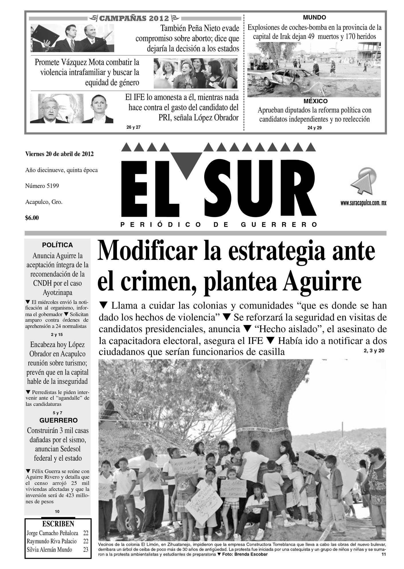 Calaméo - El Sur 20 de abril de 2012
