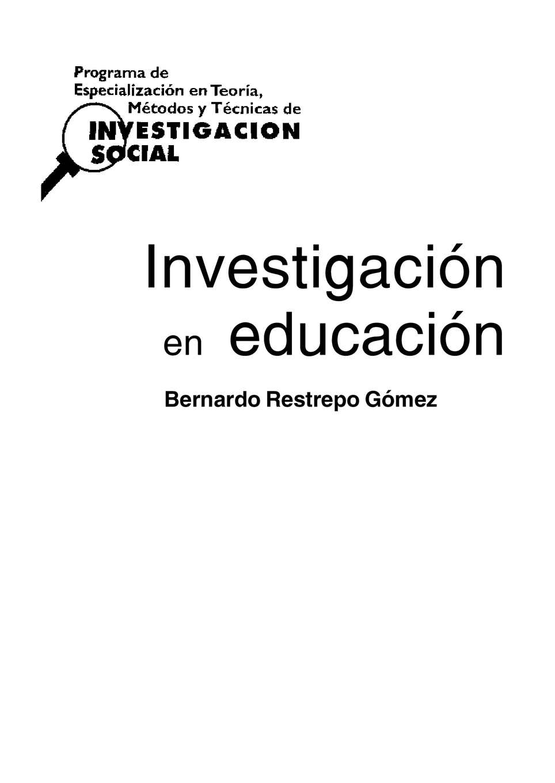 Calaméo - investigacion en educacion