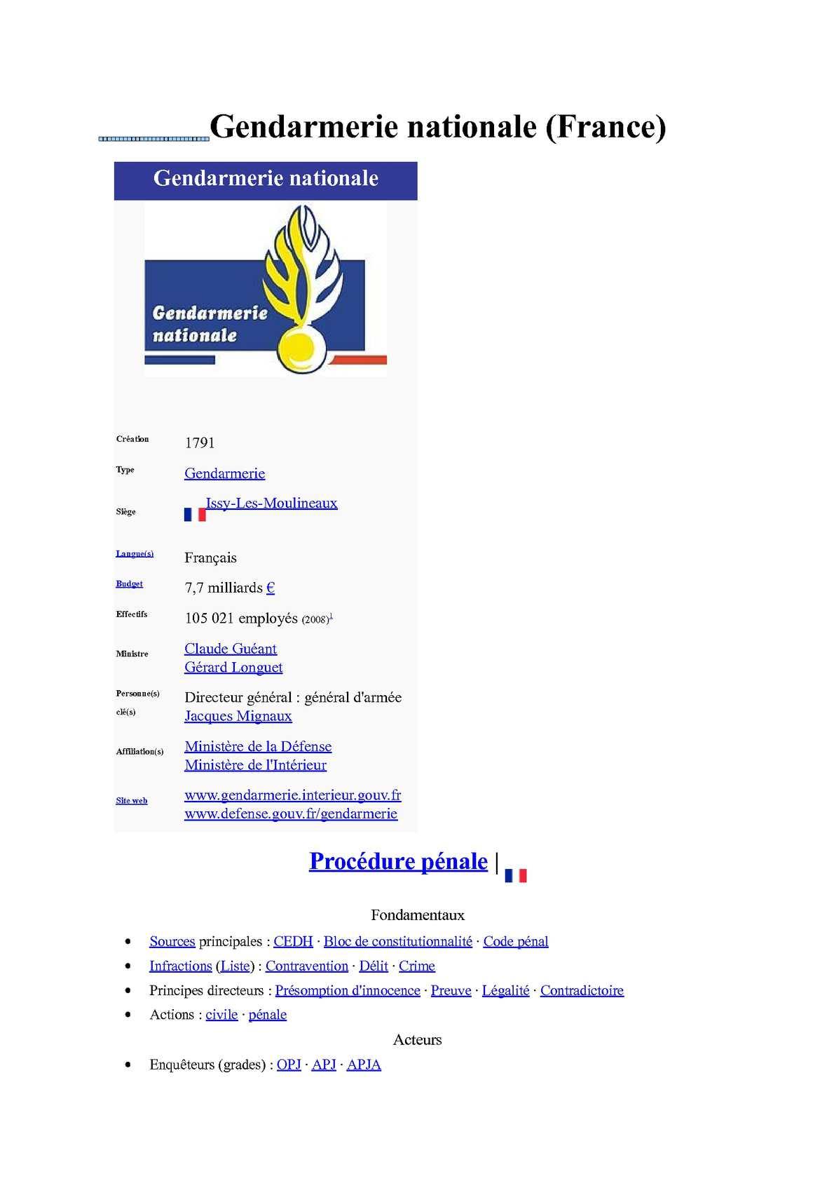 Guide ane compte rendu gendarmerie ...