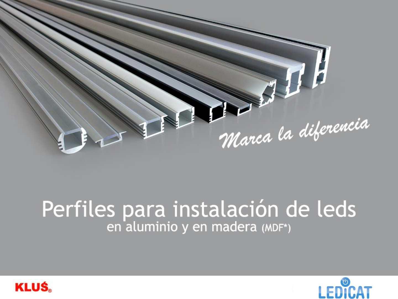 Calam o perfiles aluminio tira de led for Perfiles de aluminio para toldos de palilleria