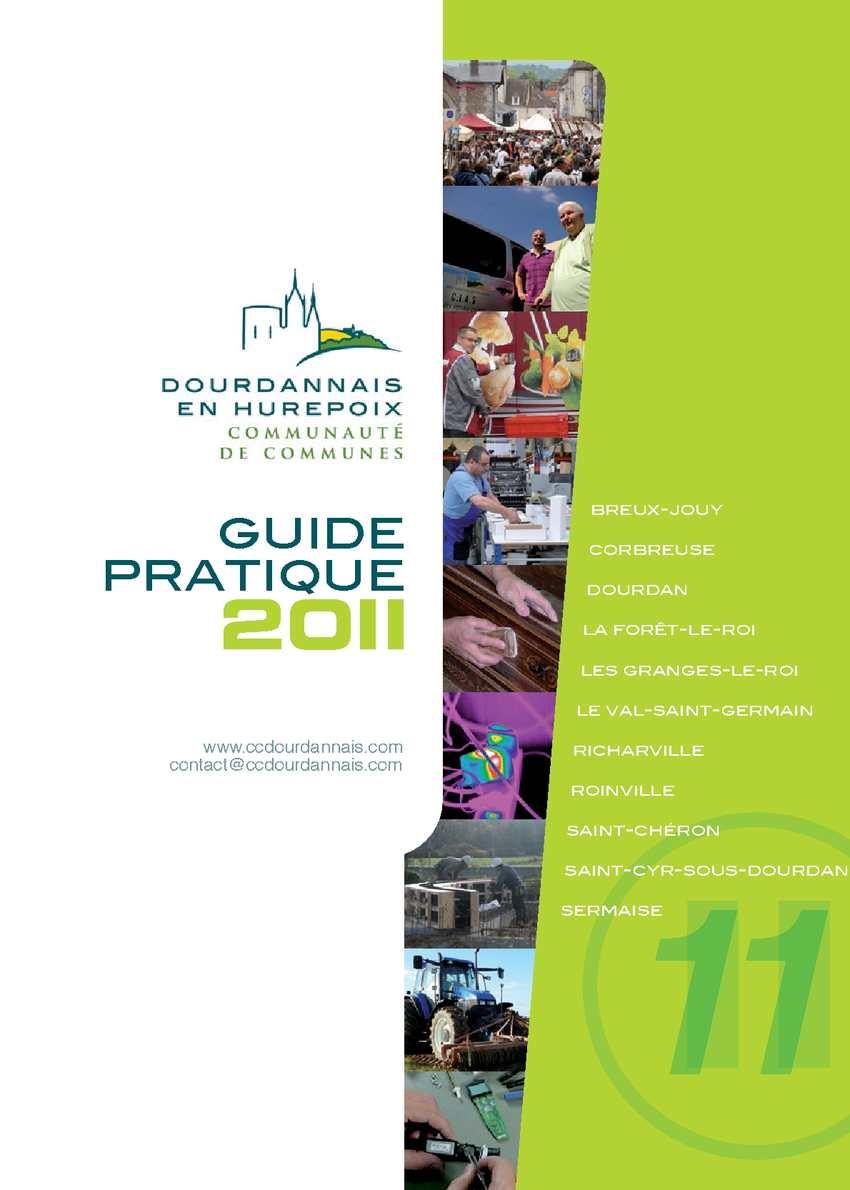 Calam o guide pratique de la communaut de communes dourdannais en hurepoix - Office de tourisme dourdan ...