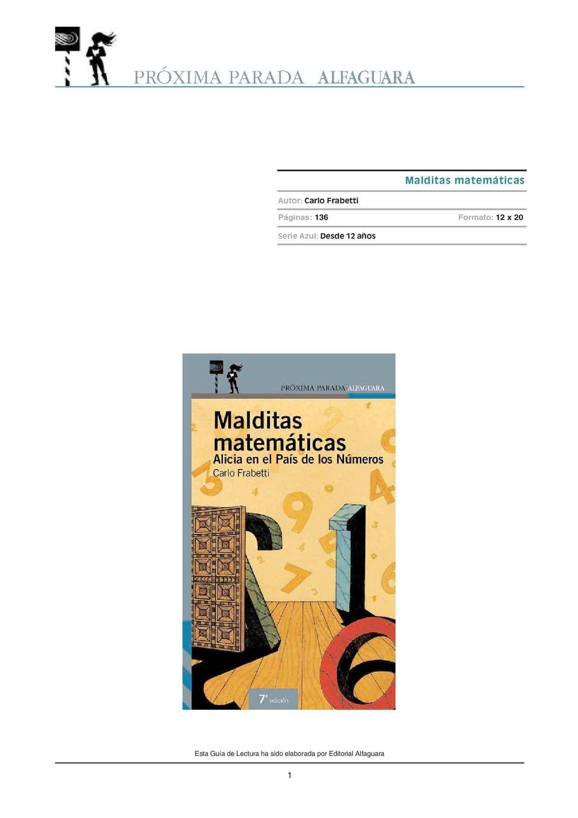 MALDITAS MAYEMÁTICAS