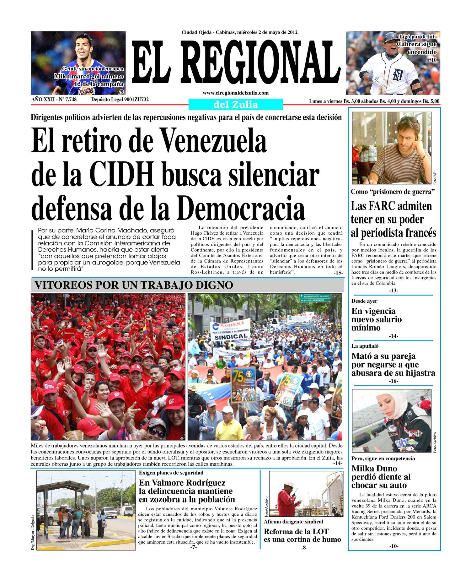 Calaméo - El Regional del Zulia 02-05-2012