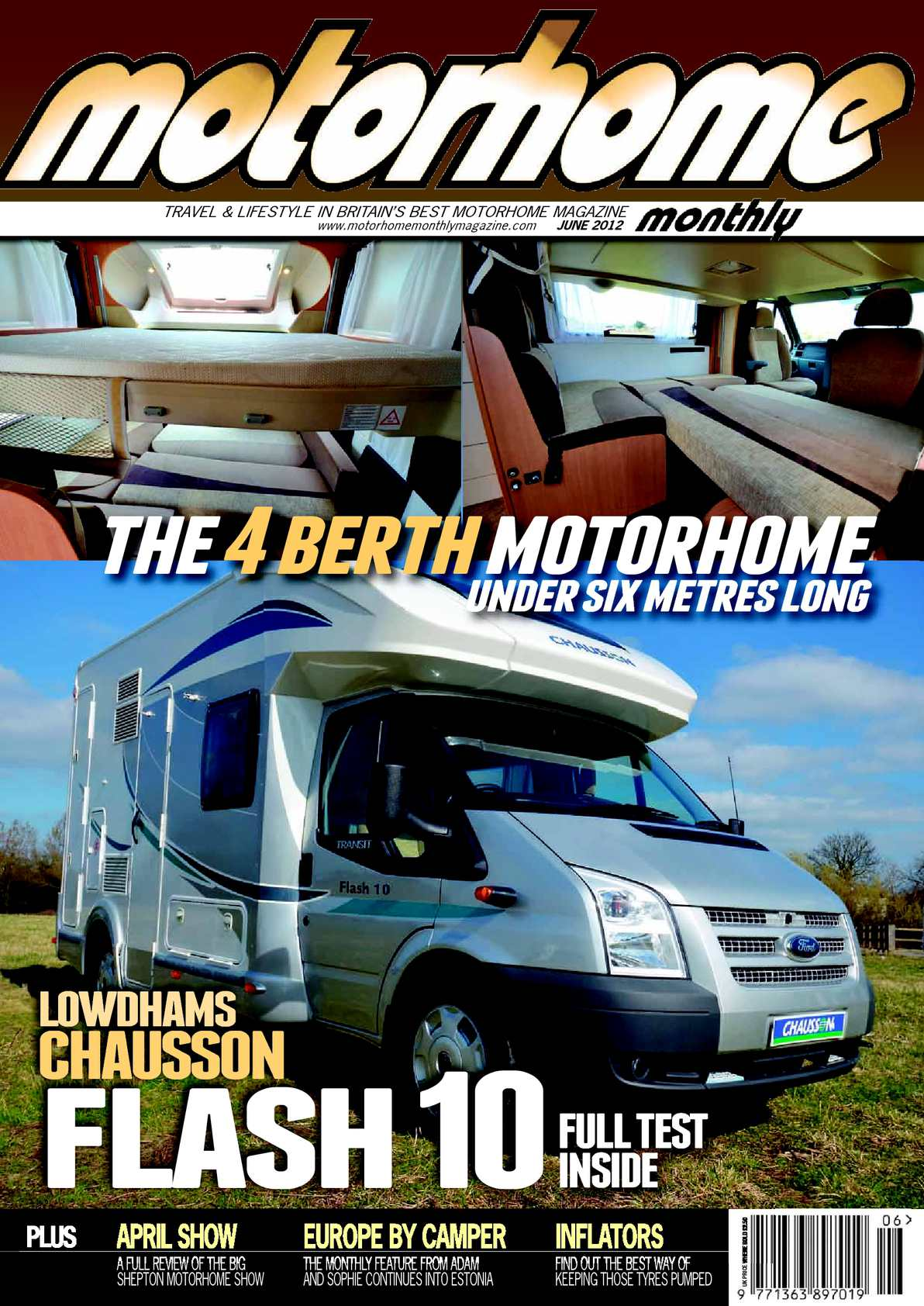 Calaméo June 2012 Motorhome Monthly
