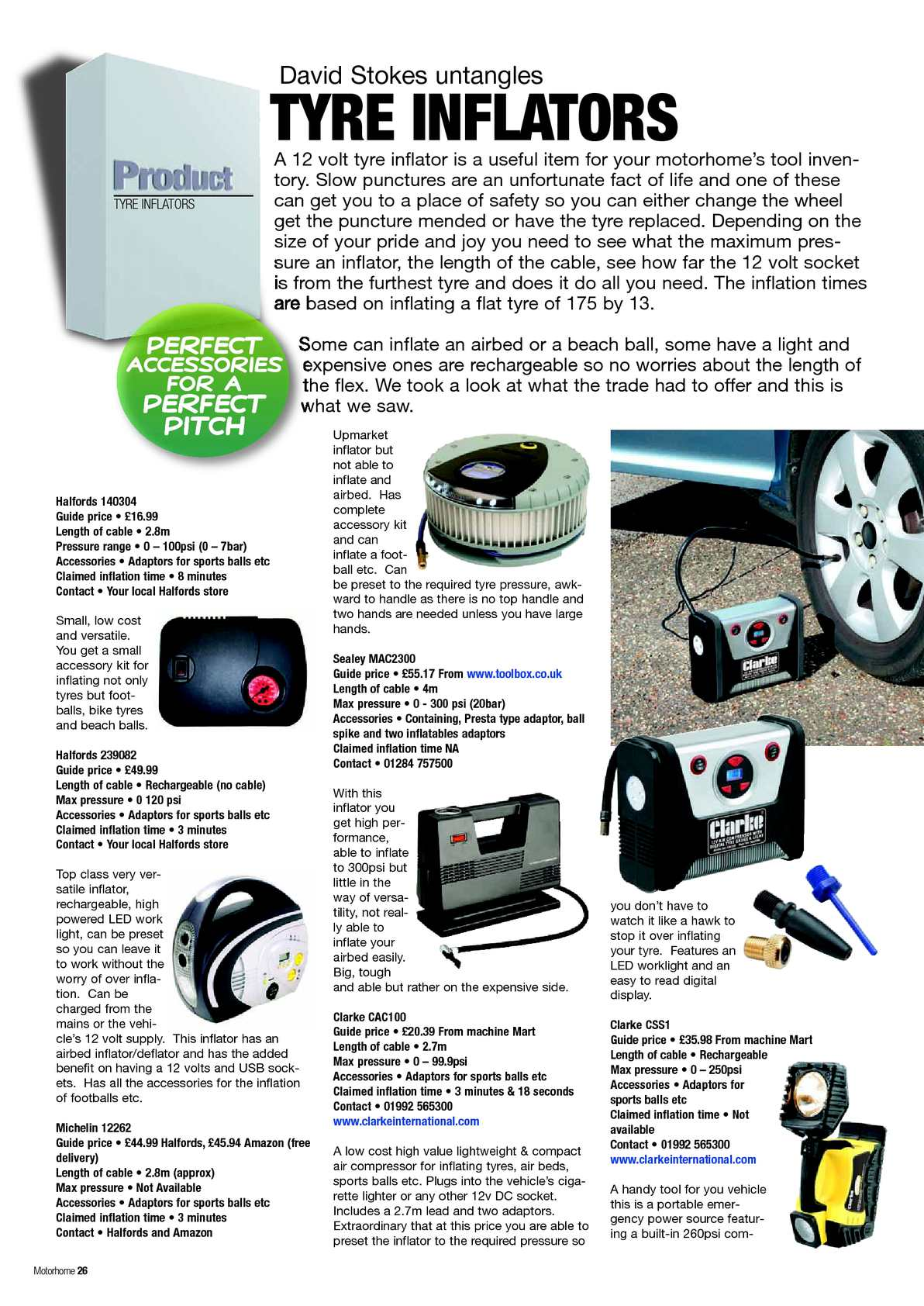 June 2012 Motorhome Monthly Calameo Downloader Relay Switch Halfords Page 28