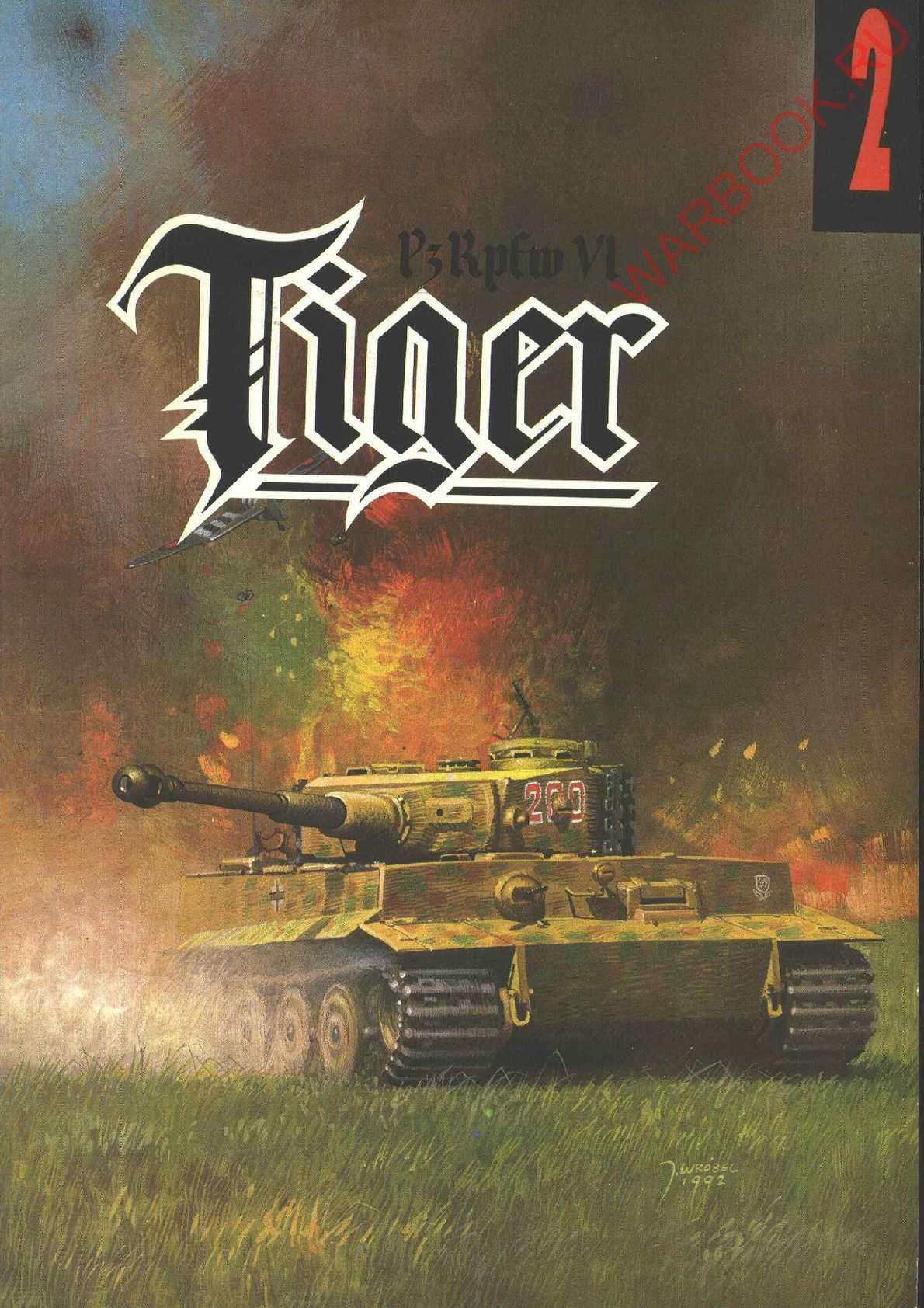 Wydawnictwo Militaria 02 Pzkpfw VI Tiger vol.1