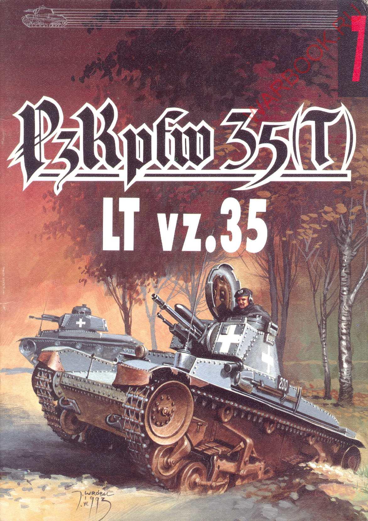 Wydawnictwo Militaria 07 PzKpfw 35 (t) LT vz.35