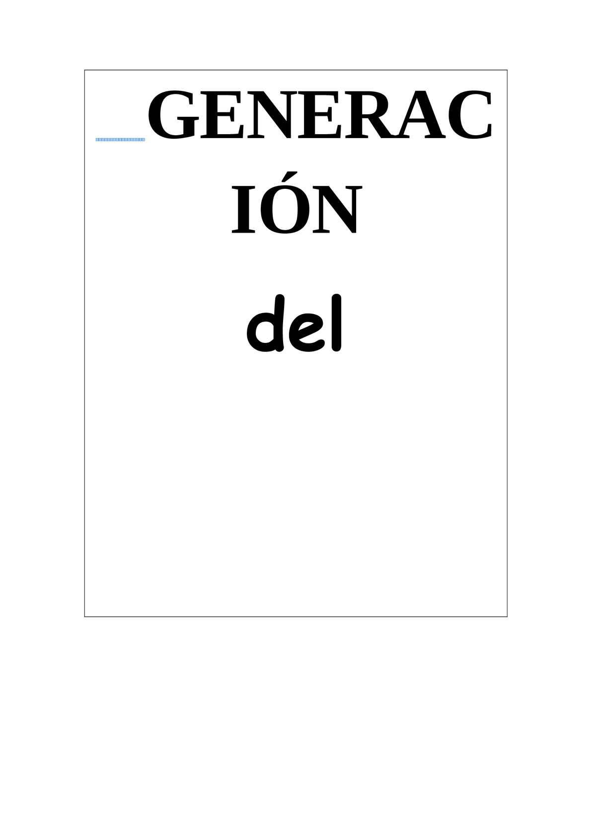 Calaméo - GENERACIÓN DEL 27