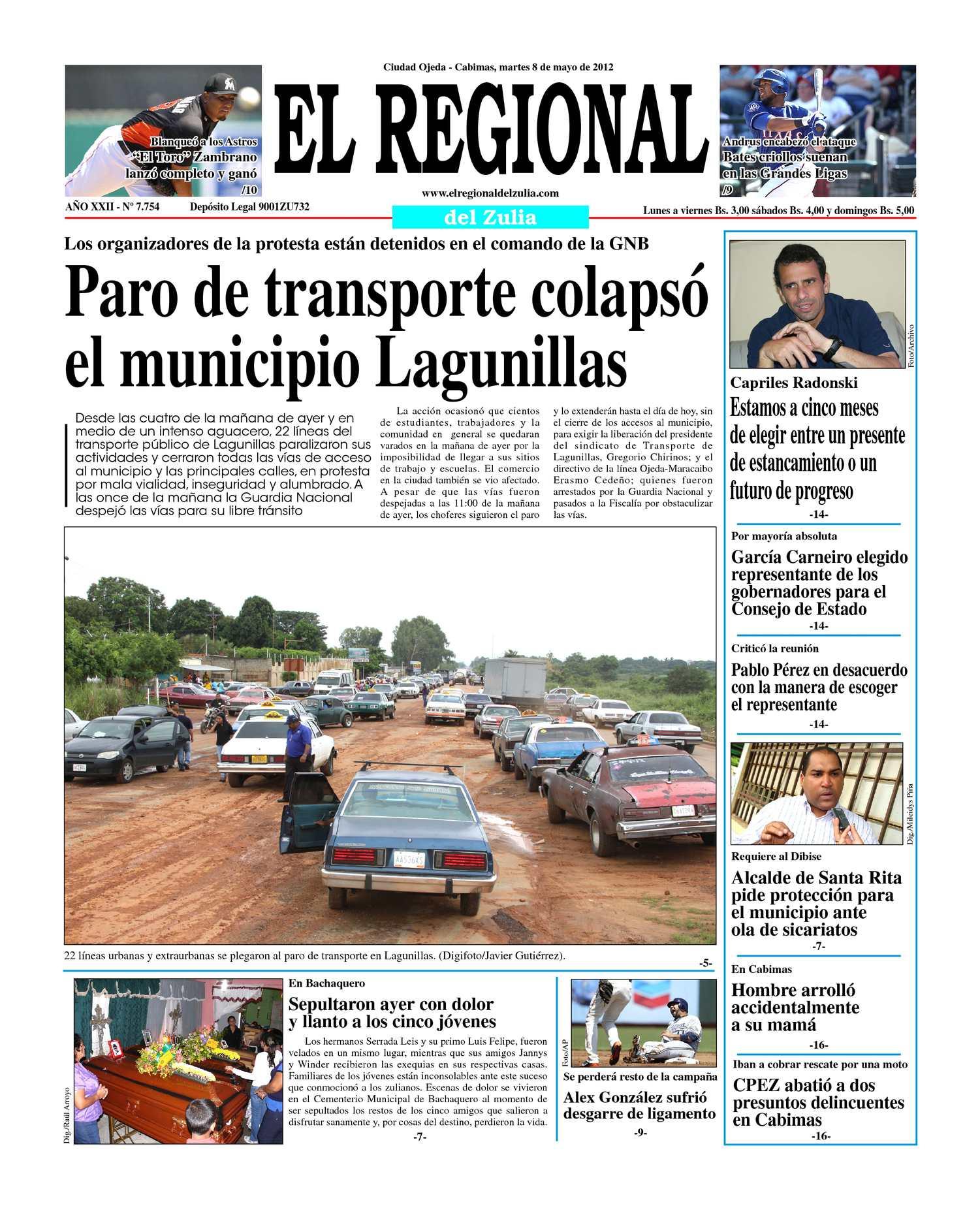 Calaméo - El Regional del Zulia 08-05-2012