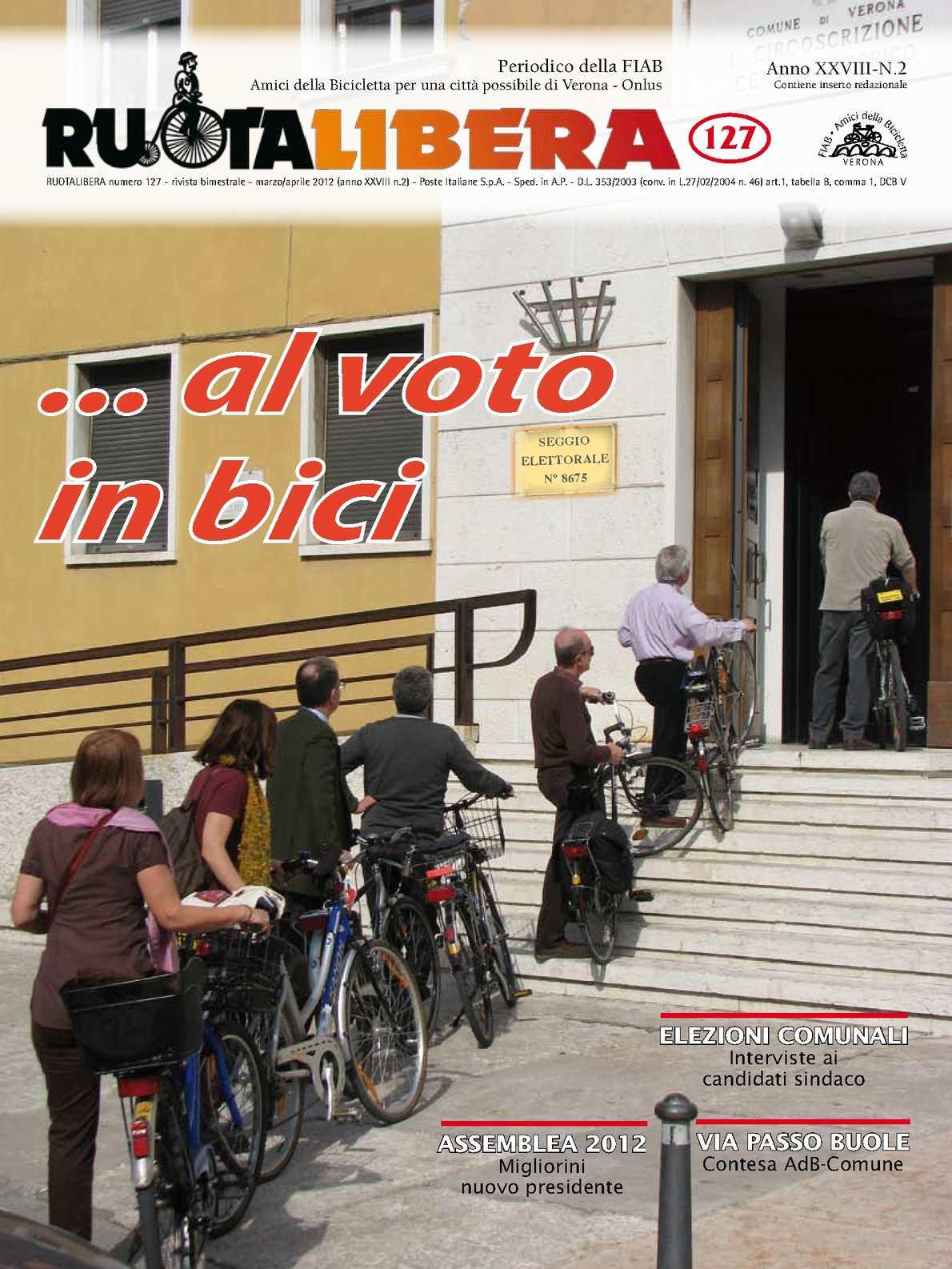 Ruotalibera 127 (marzo/aprile 2012) - FIAB AdB Verona