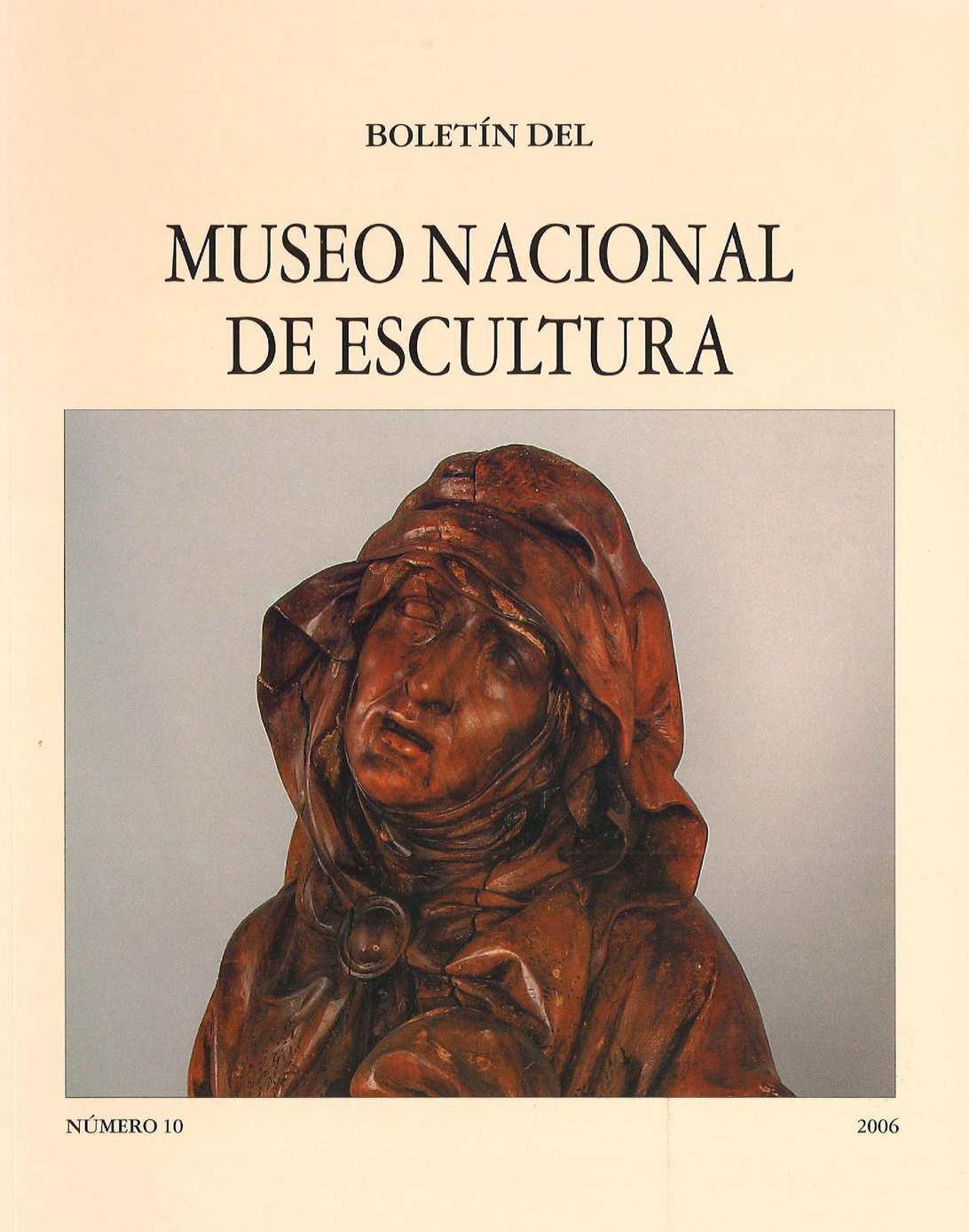 Calaméo - Boletin del Museo Nacional de Escultura 10 2006