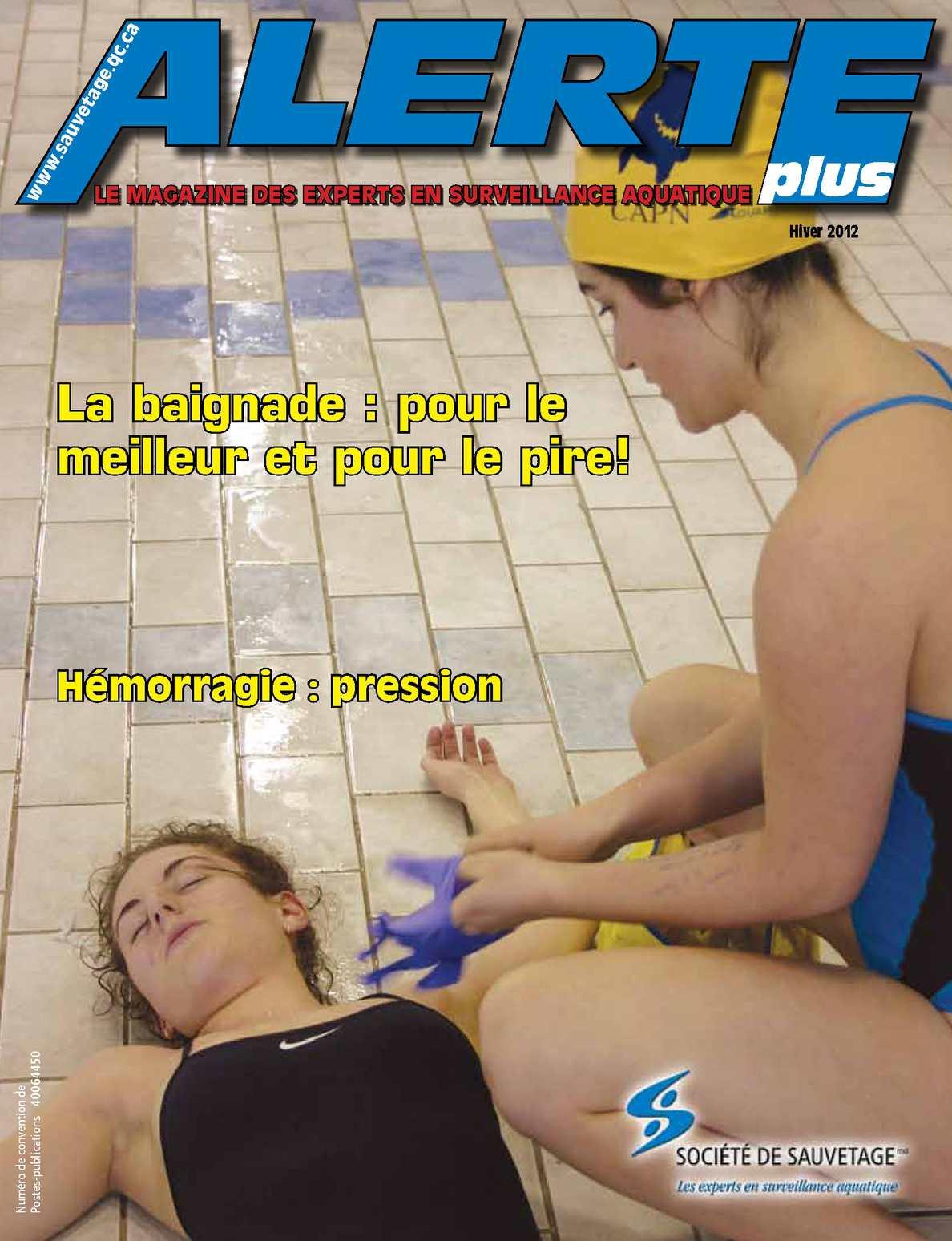 Magazine Alerte plus - Hiver 2012