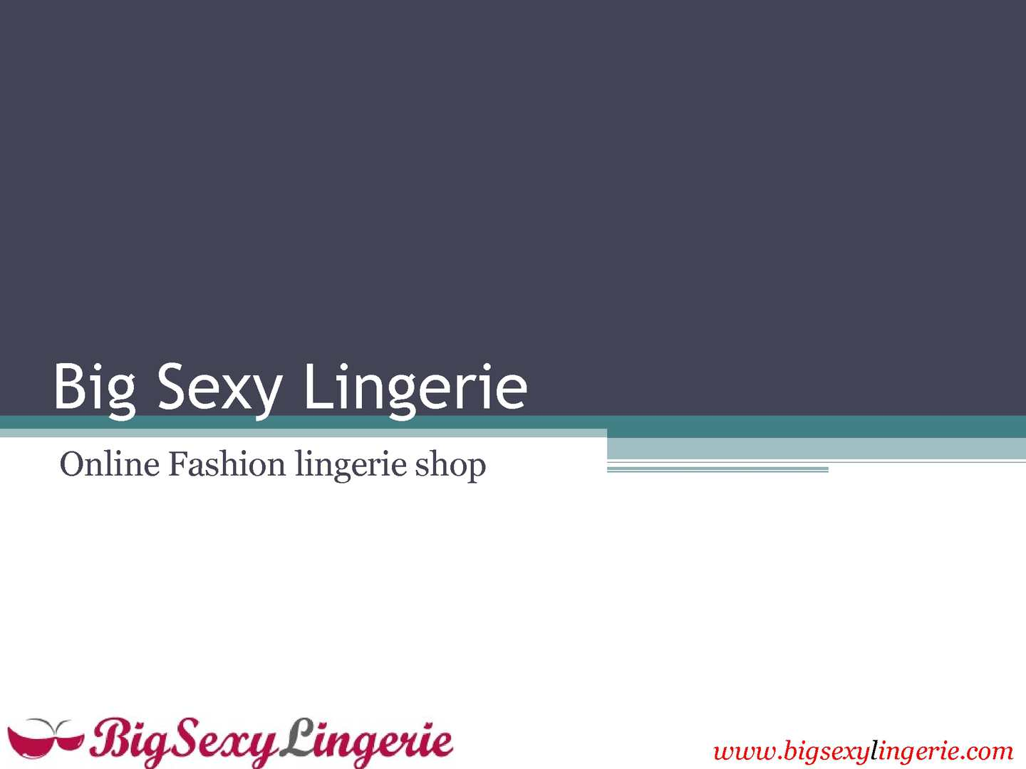 Quality Online lingerie for every size