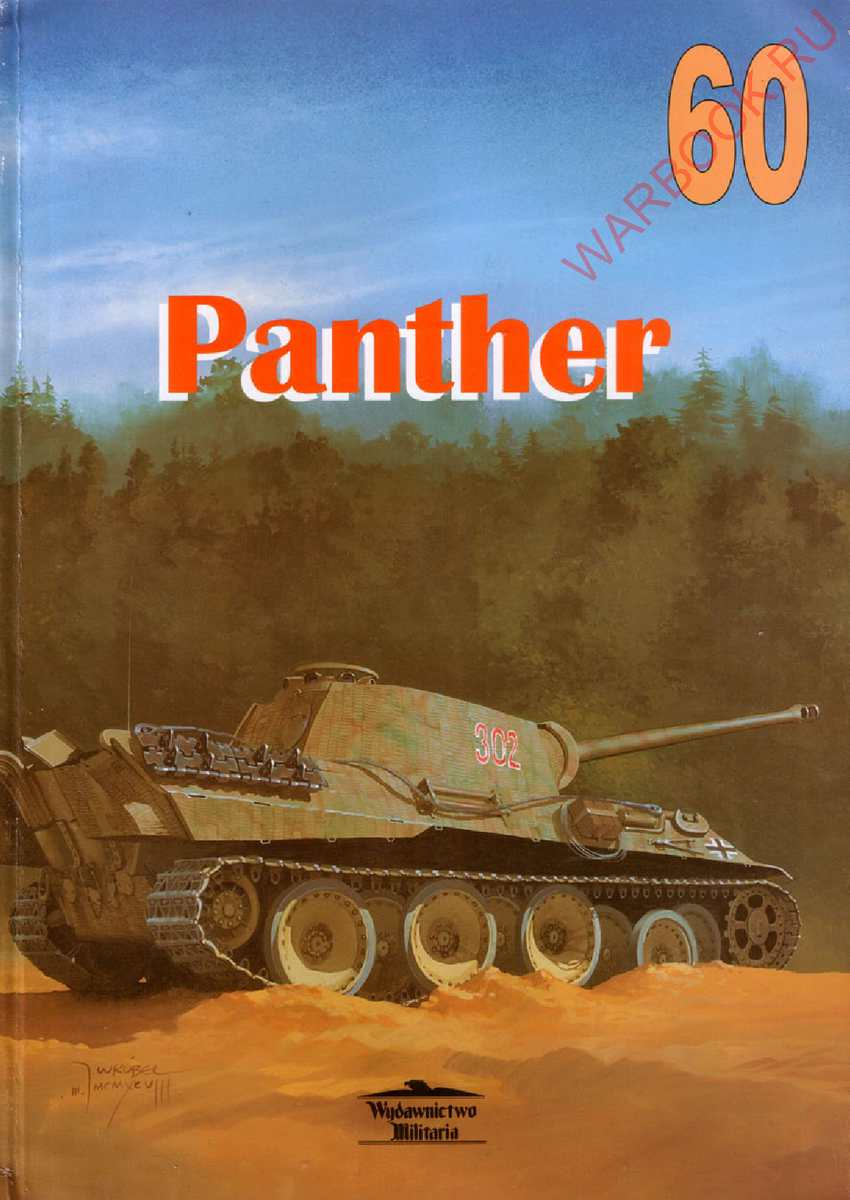 Wydawnictwo Militaria 60 PzKpf V SdKfz 171 ''Panther'' (1)