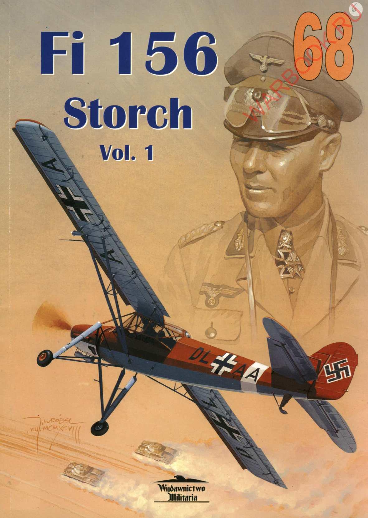 Wydawnictwo Militaria 68 Fieseler Fi-156 Storch cz 1