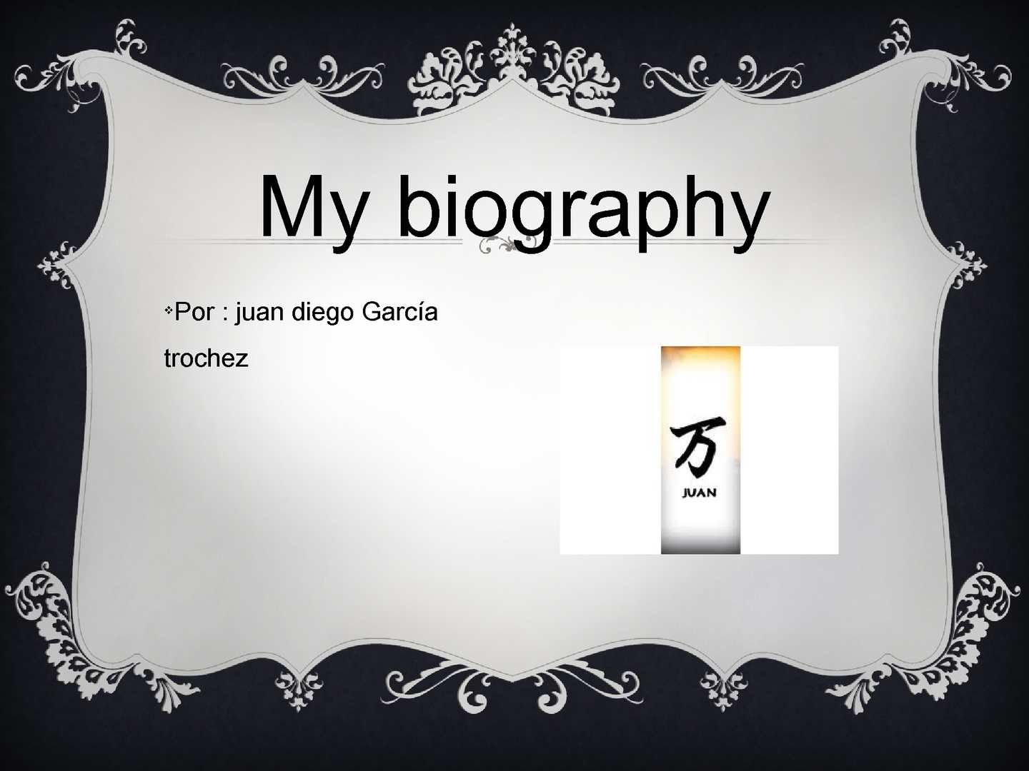 my biography My life was originally published in 1930 by charles schribner's sons, ny transcription and html markup for the trotsky internet archive by david walters in 1998 readers should note that the translation uses a form of written english combining both the british and the united states styles of.