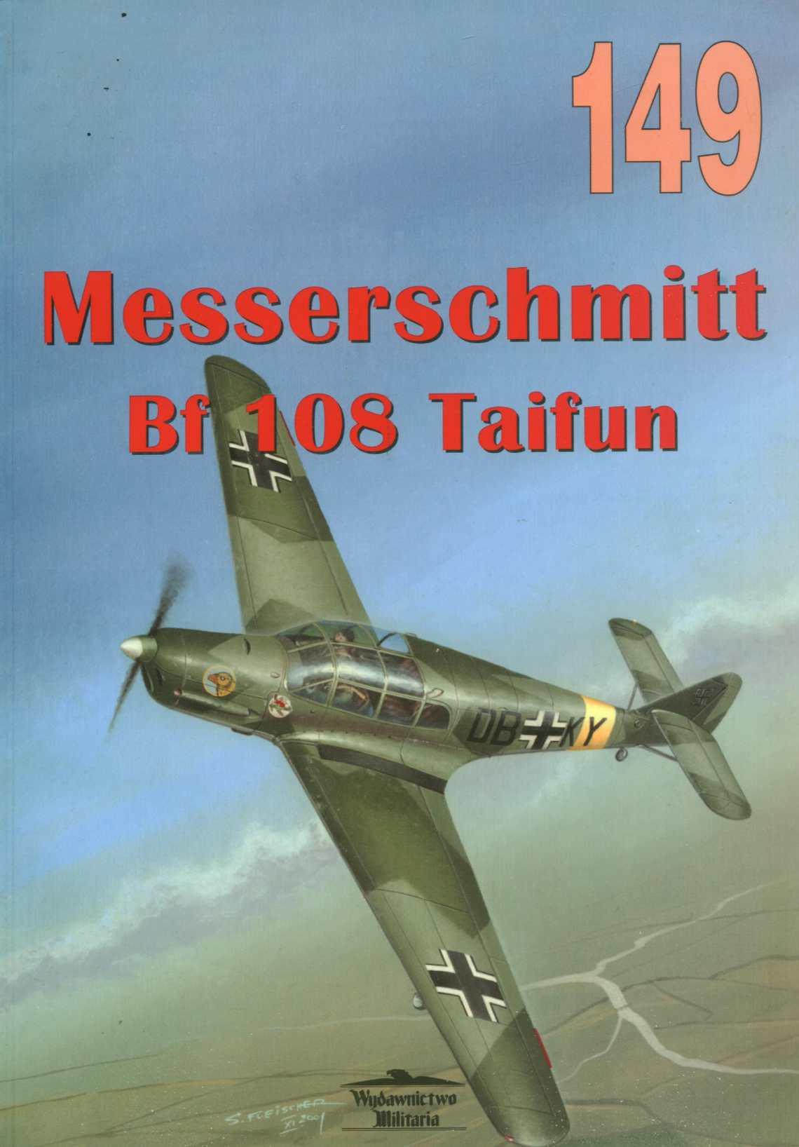 Wydawnictwo Militaria 149 Messerschmitt Bf-108 Taifun.pdf
