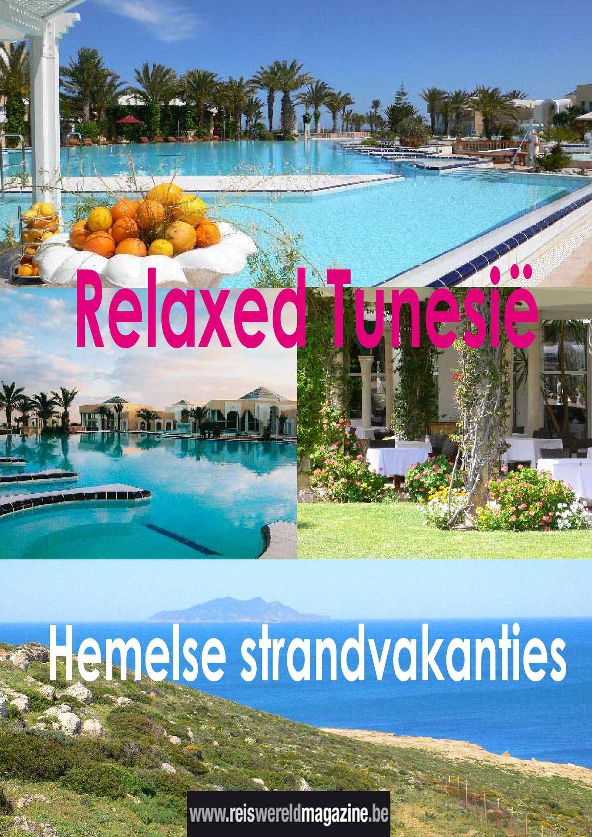 Relax, je bent in Tunesië: reportage van Reiswereld Magazine.be