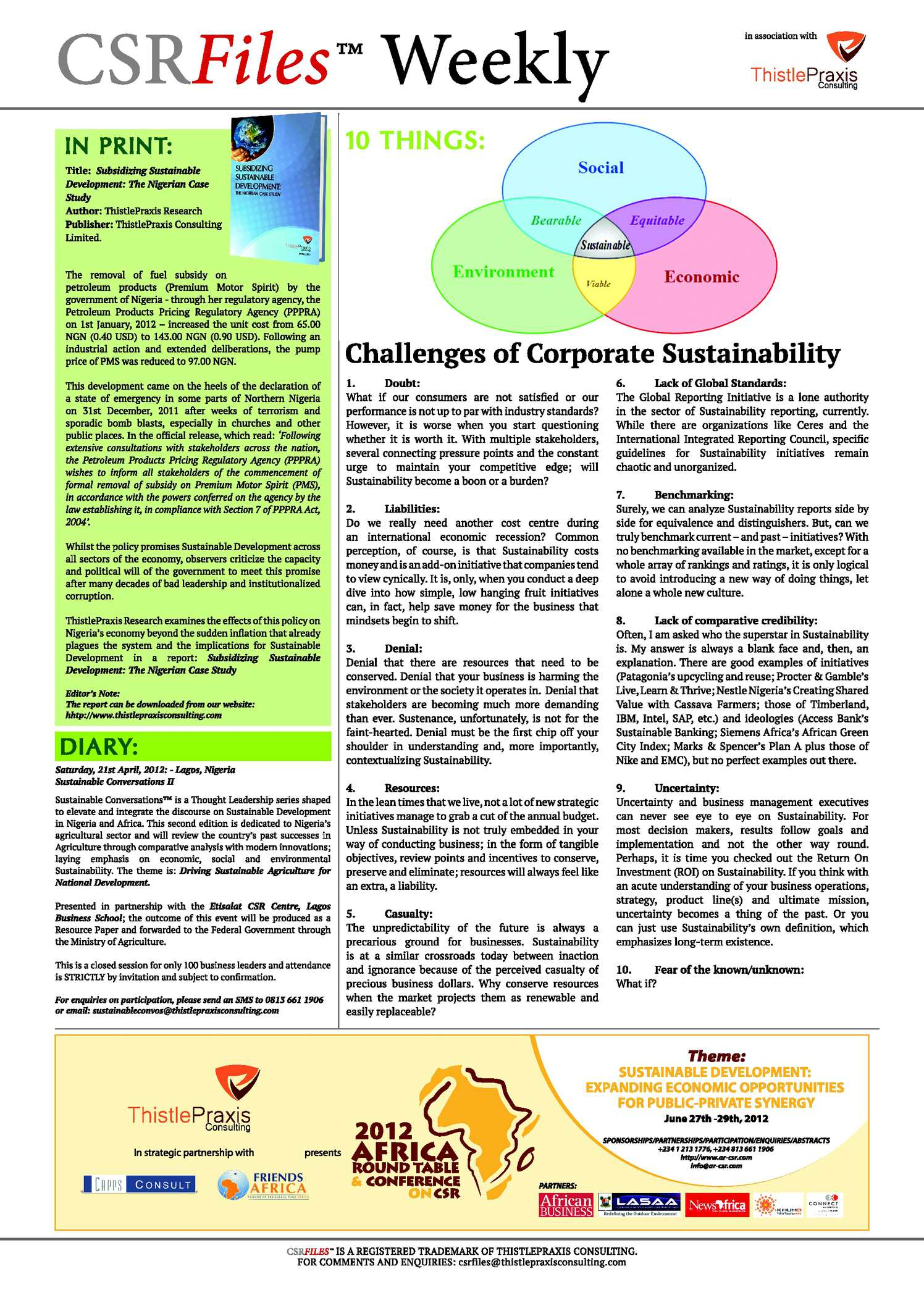 corporate social responsibility ensures business sustainability A short guide to help you define 'sustainability' and 'corporate social responsibility.