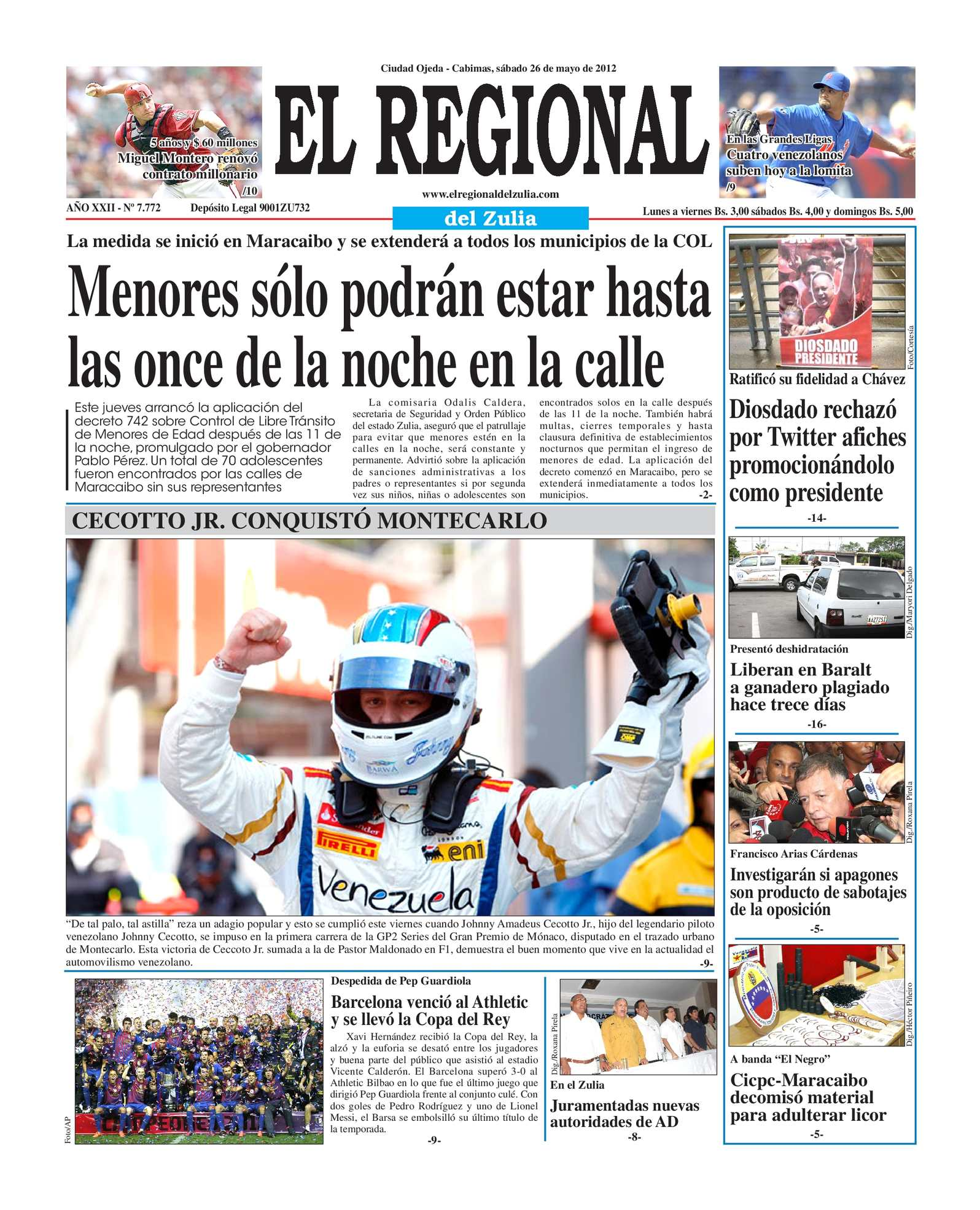 Calaméo - El Regional del Zulia 26-05-2012