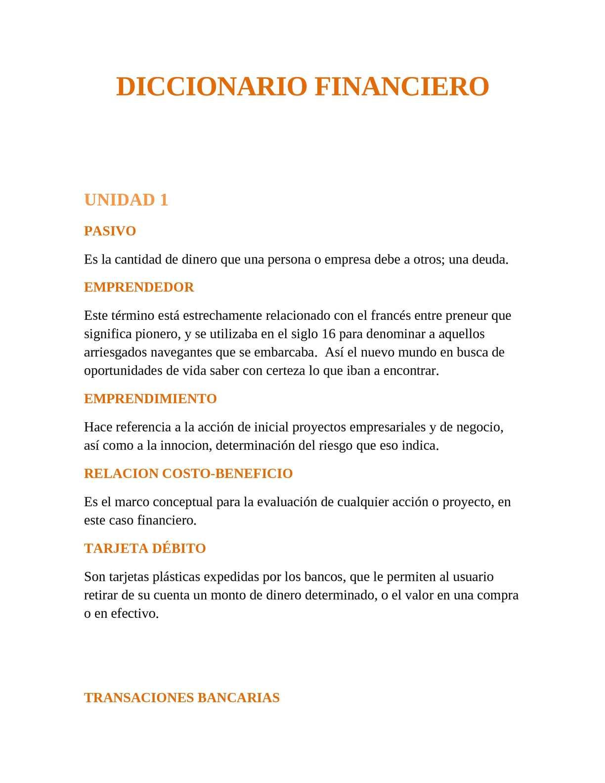 Calaméo - diccionario financieron