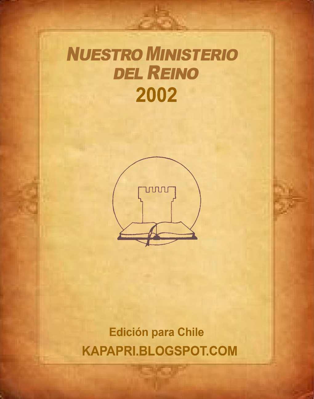 Calaméo - 2002 Nuestro Ministerio del Reino