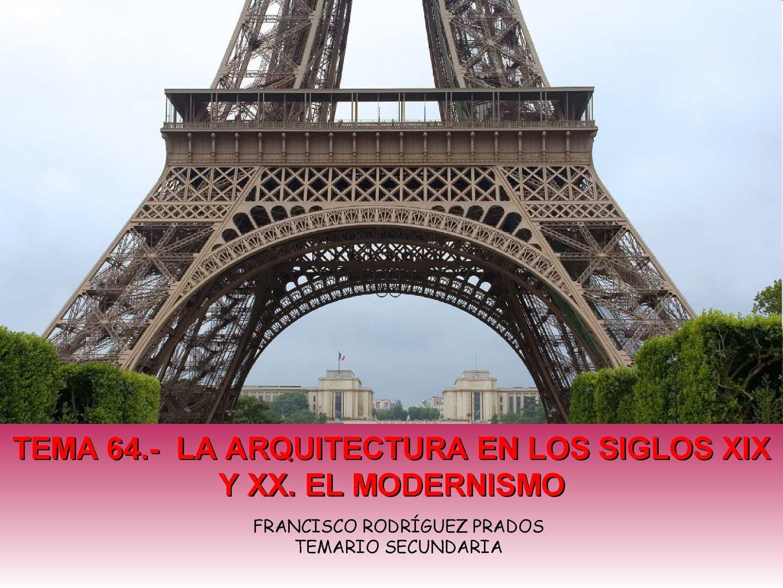 Calam o tema 64 la arquitectura en los siglos xix y xx Arquitectura del siglo 20 wikipedia