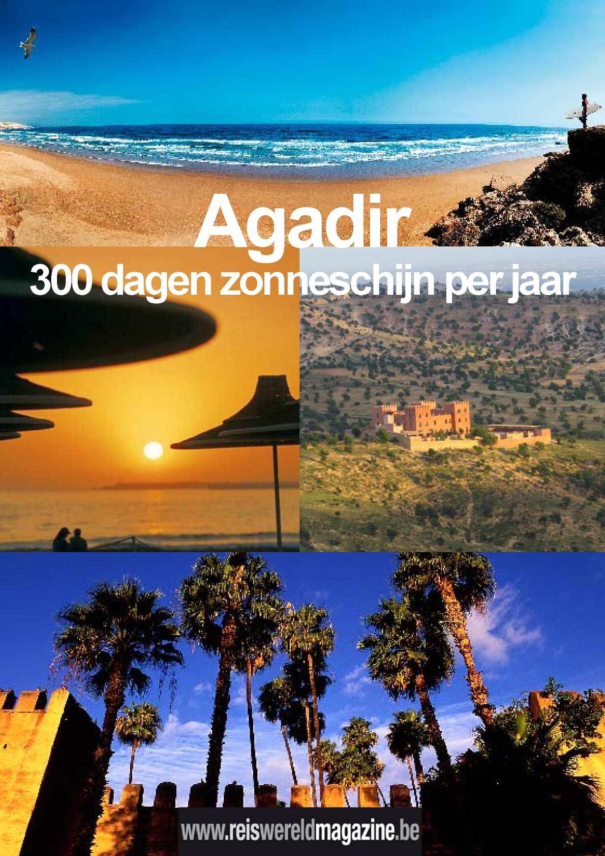 Agadir en omgeving: reportage van Reiswereld Magazine.be