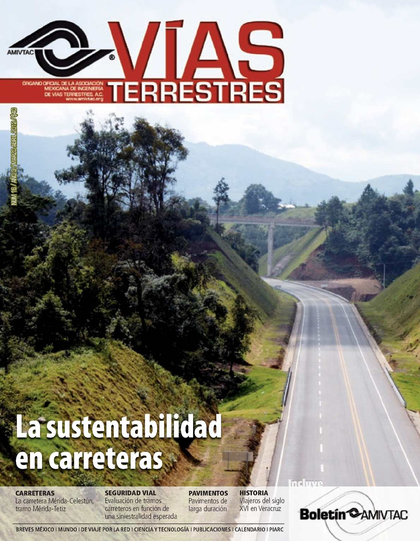 Via Terrestre, La sustentabilidad en carreteras Mexicanas
