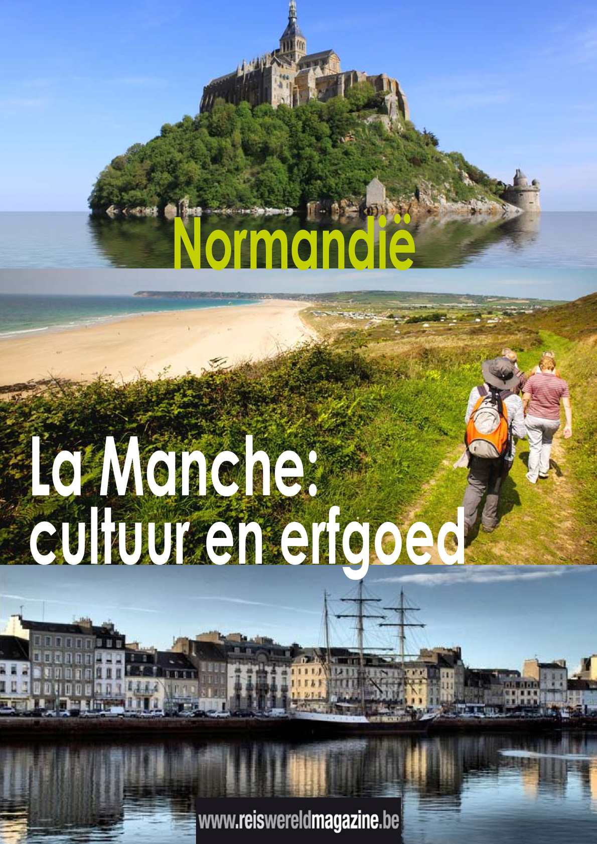 Reportage in La Manche! Reiswereld Magazine.be