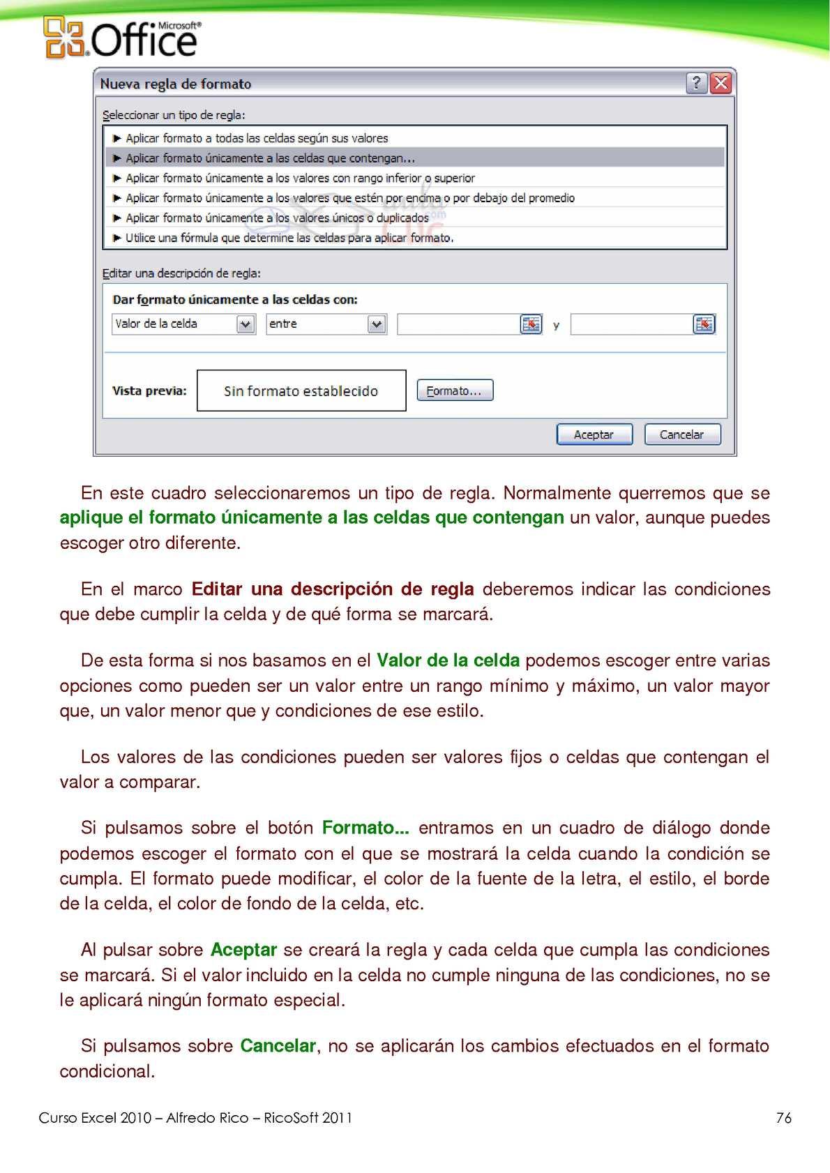 Curso de Microsoft Excel 2010 - CALAMEO Downloader