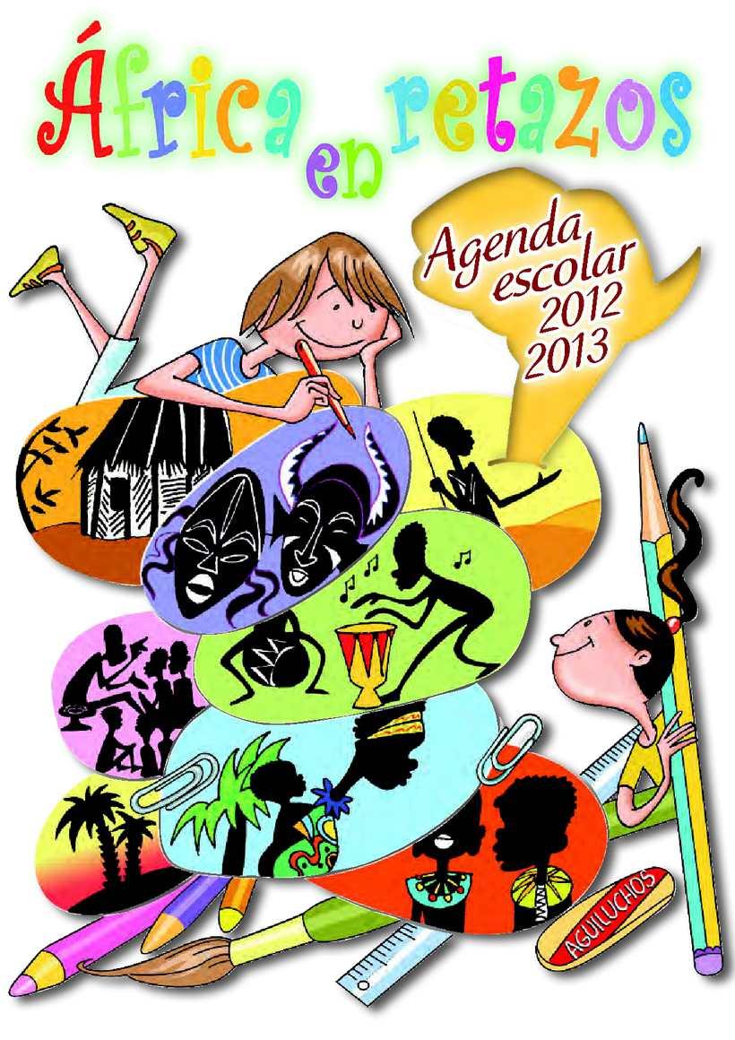 Muestra de la Agenda Escolar 2012-13