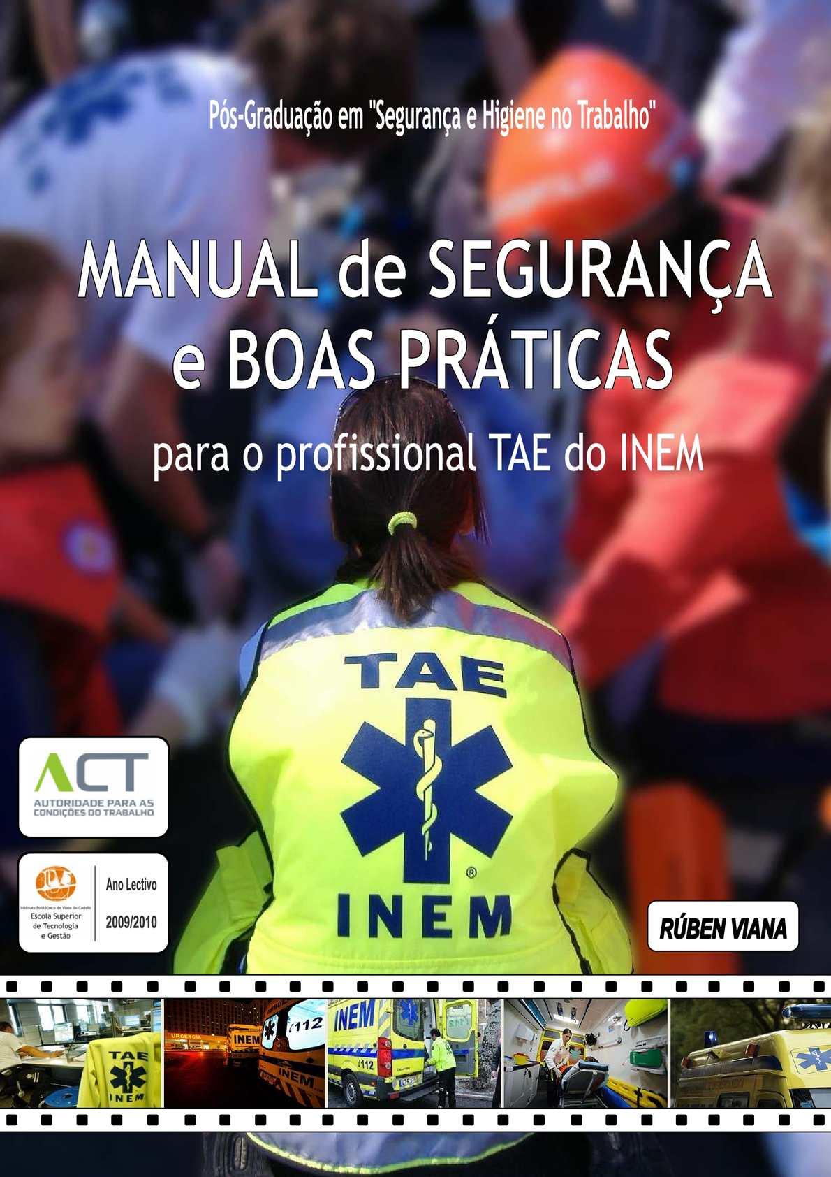Calaméo - Manual de Segurança e Boas Práticas para os profissionais da  emergência Pré-hospitalar 5bdffb831a