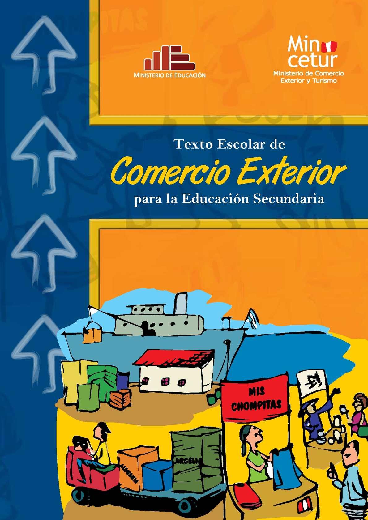 Calam o texto escolar de comercio exterior para for Comercio exterior que es