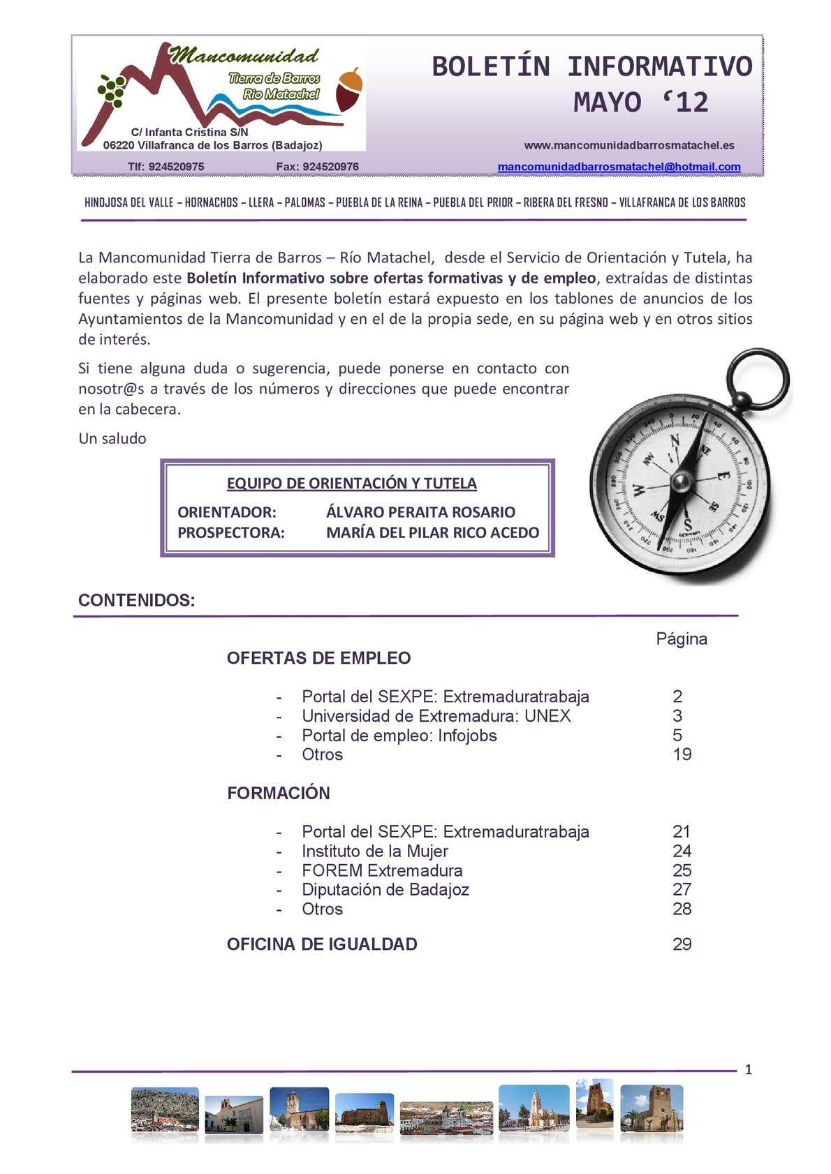 Calaméo - BOLETÍN MAYO (actualizado)