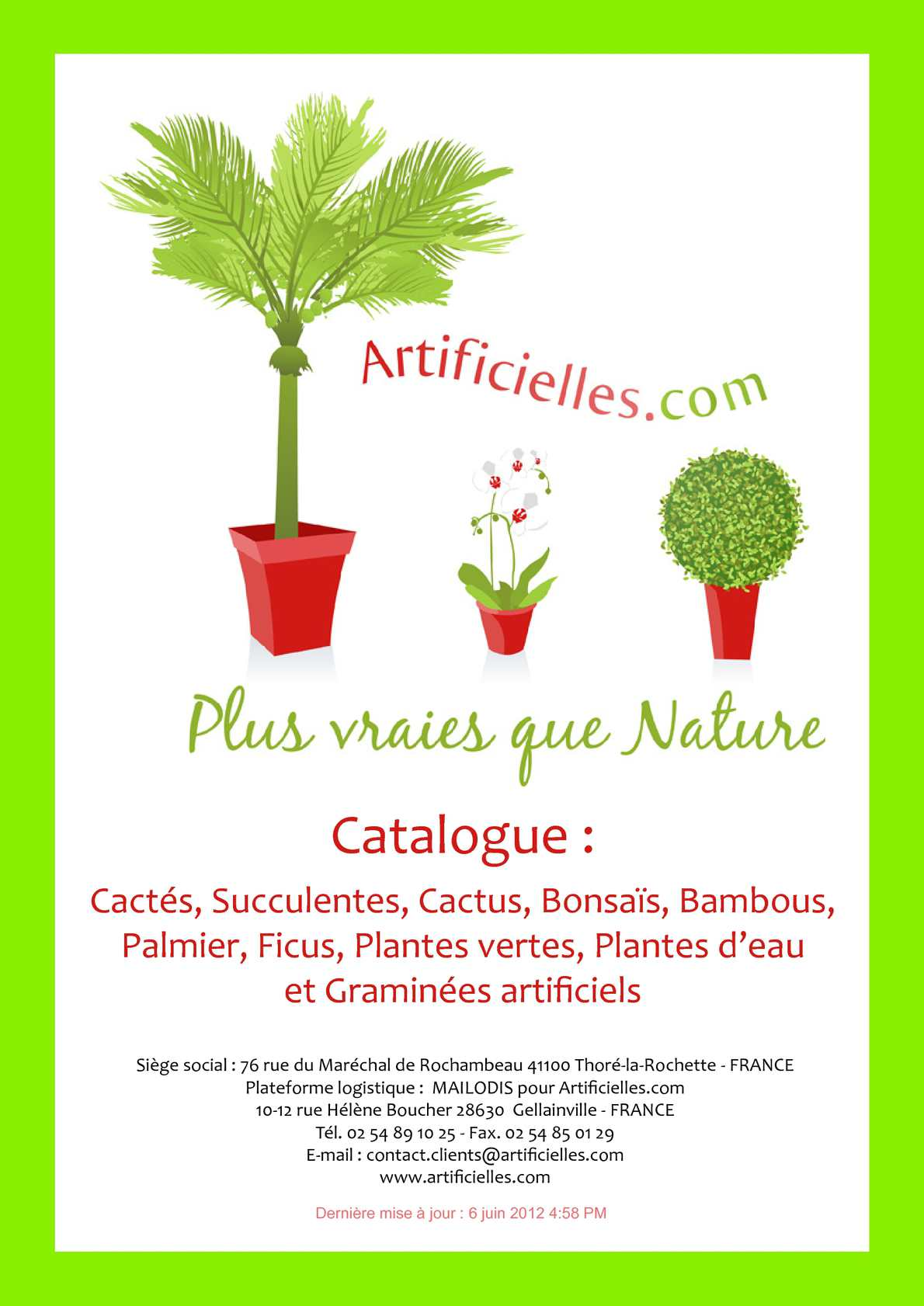 Calam o catalogue 6 cact s for Catalogue plantes